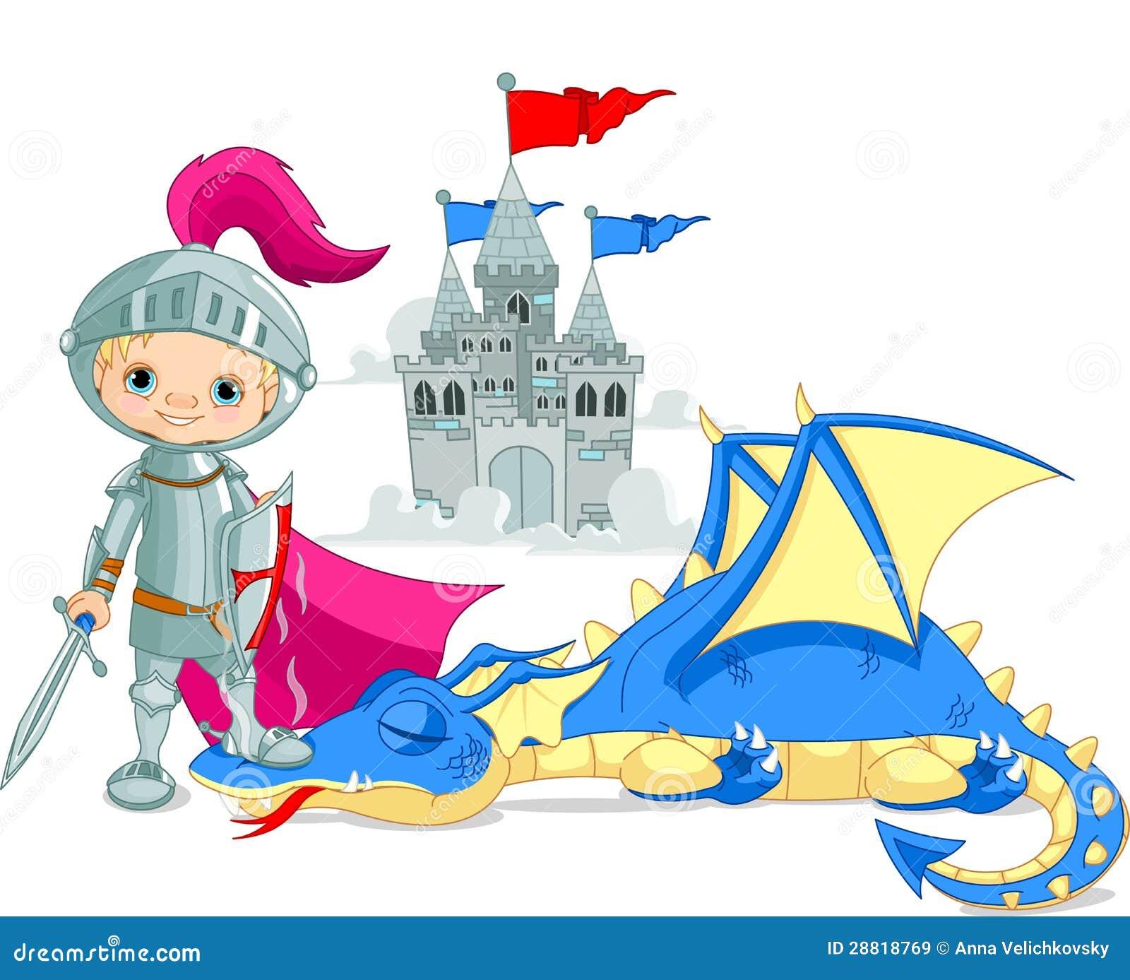 龙和骑士图片