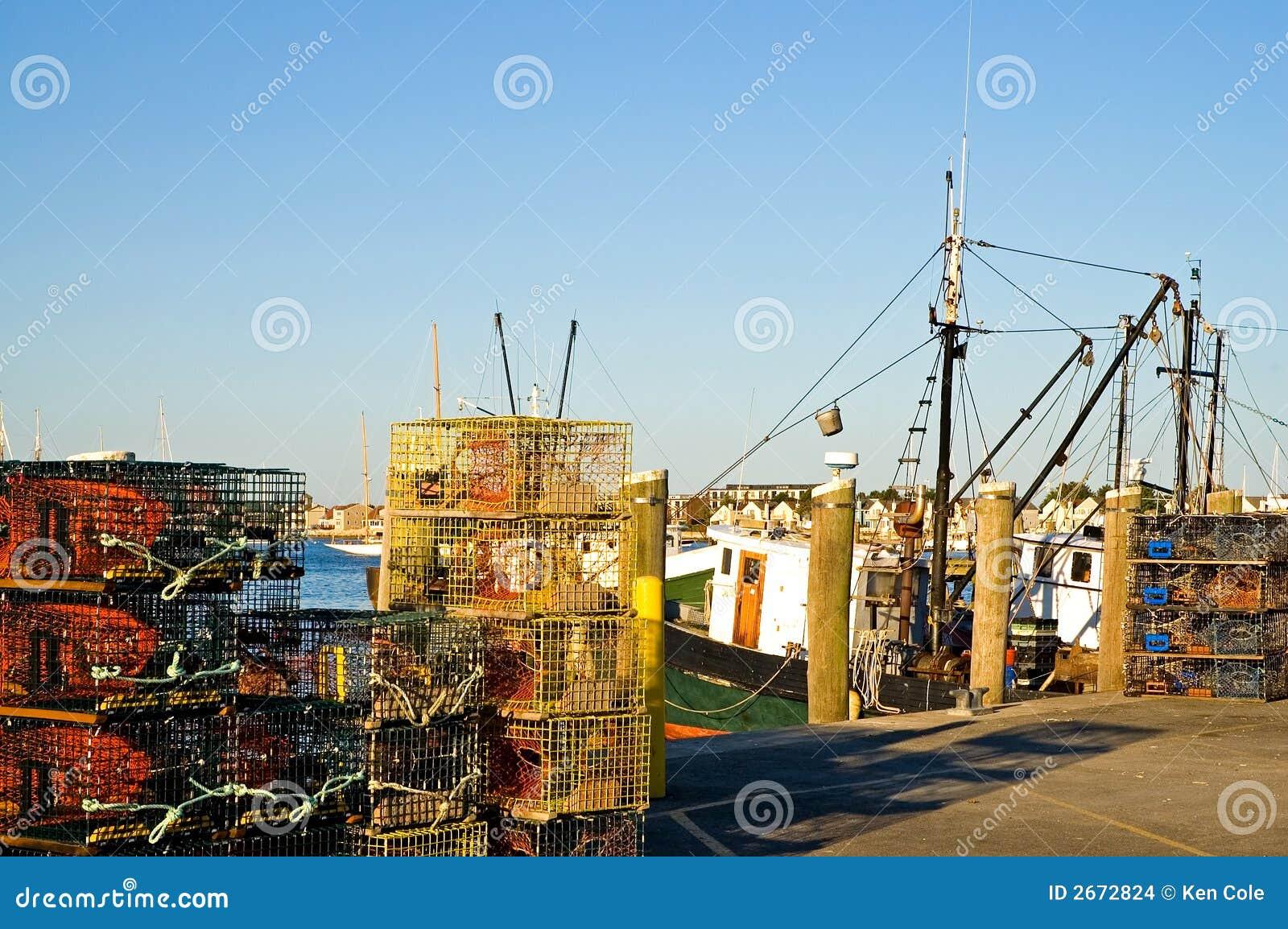 龙虾码头陷井