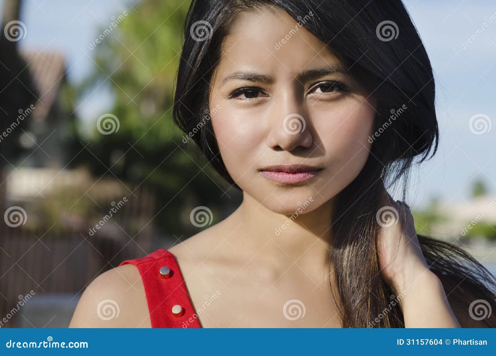 Asian Woman Faced 16