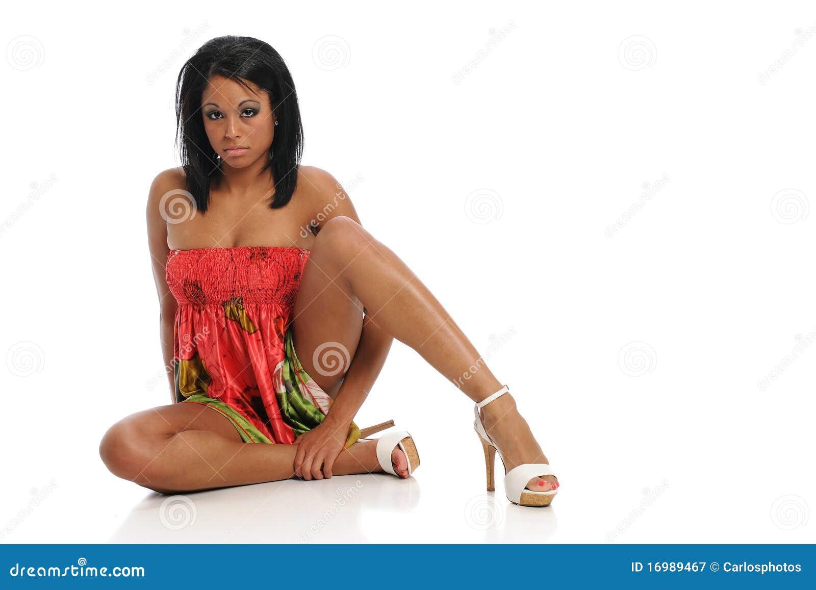 Black Woman Model 104