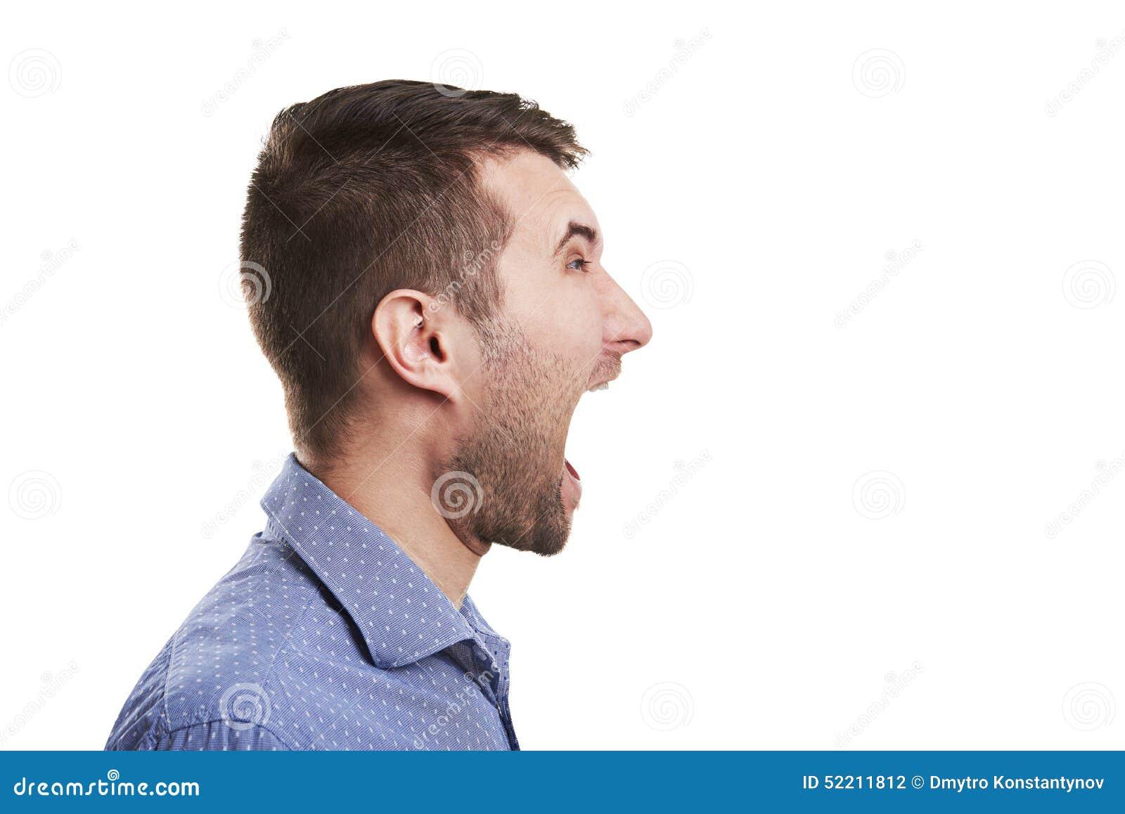 Open Mouth Side 44