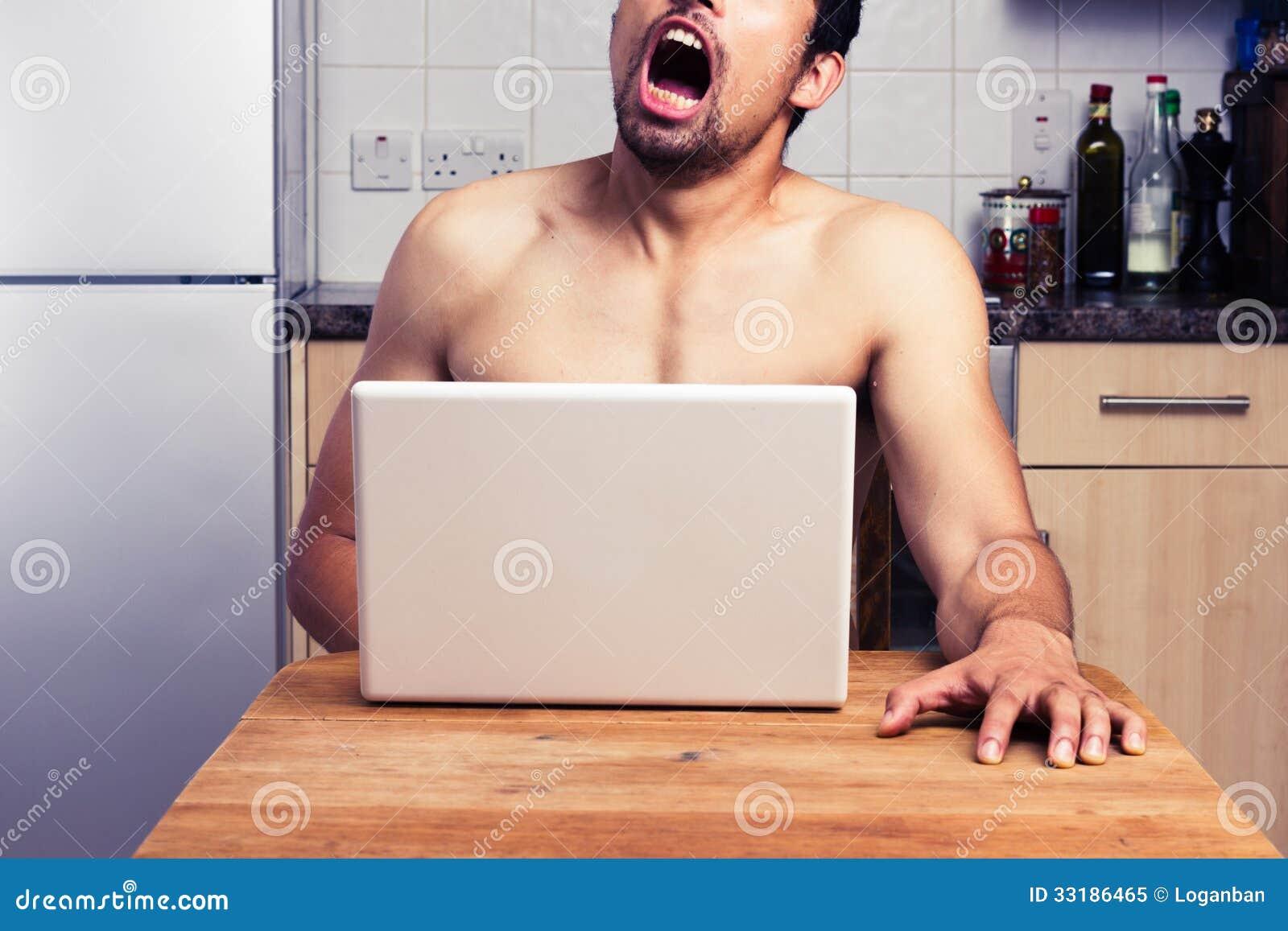 Naked Man Masturbating 69