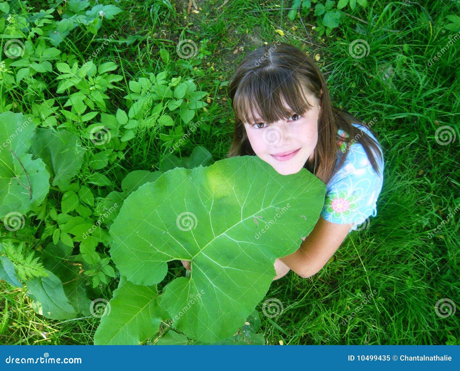 Green Leaf Nude Teens 47