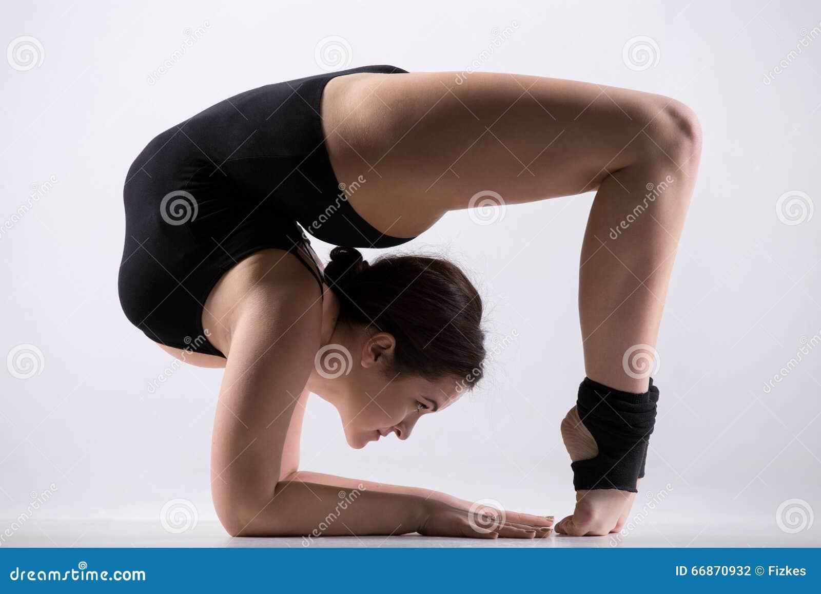 Flexible Gymnastic Pose 11