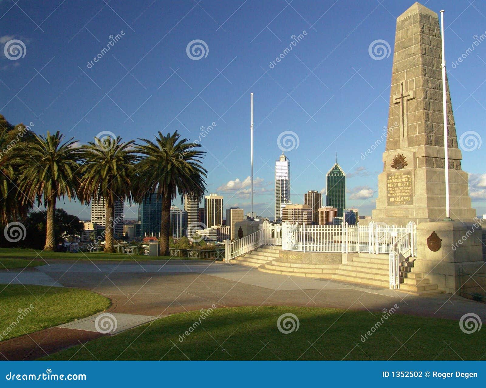 Ww1 end date in Perth