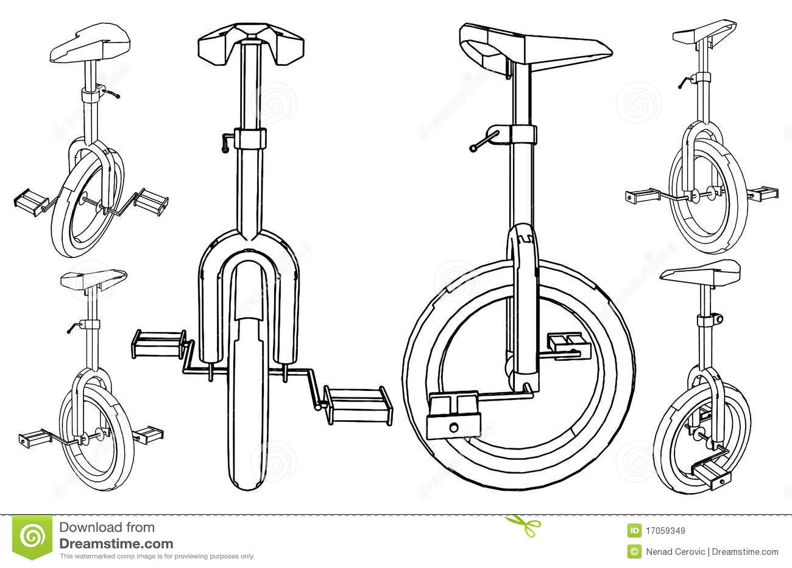 01 ποδήλατο ένα διανυσματι&