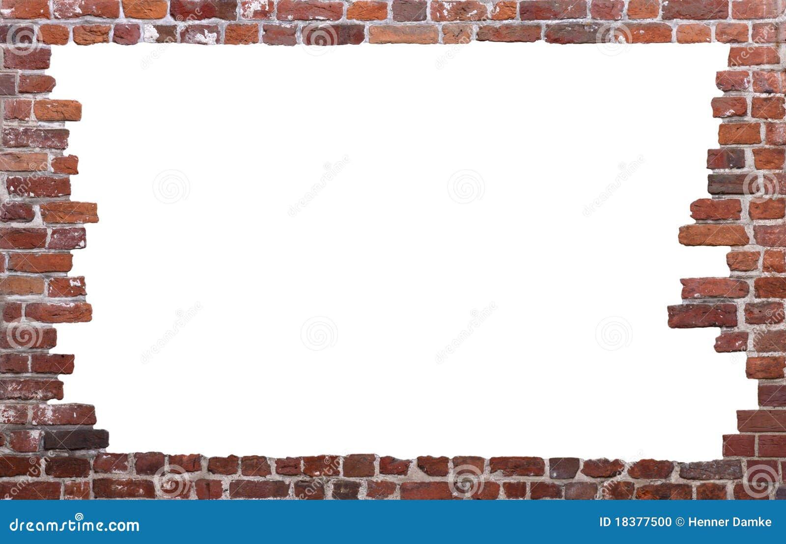 01 как стена рамки кирпича старая