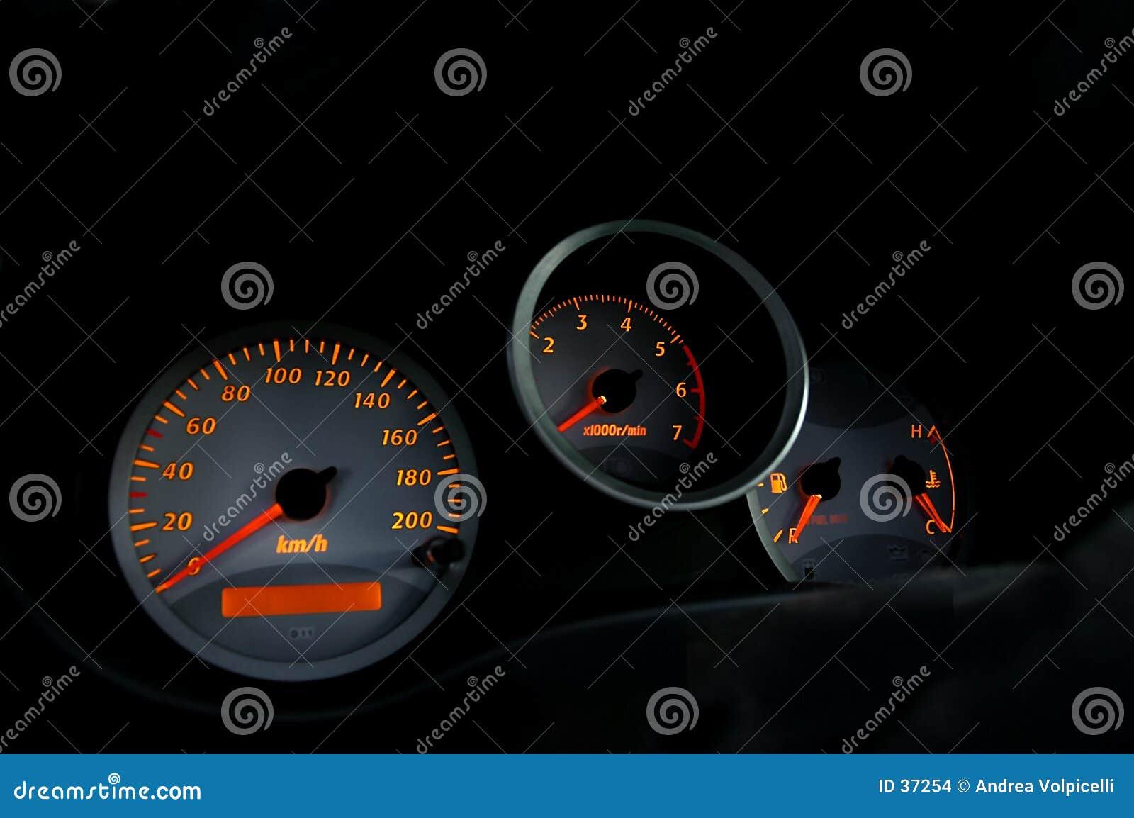 01 samochód intruments