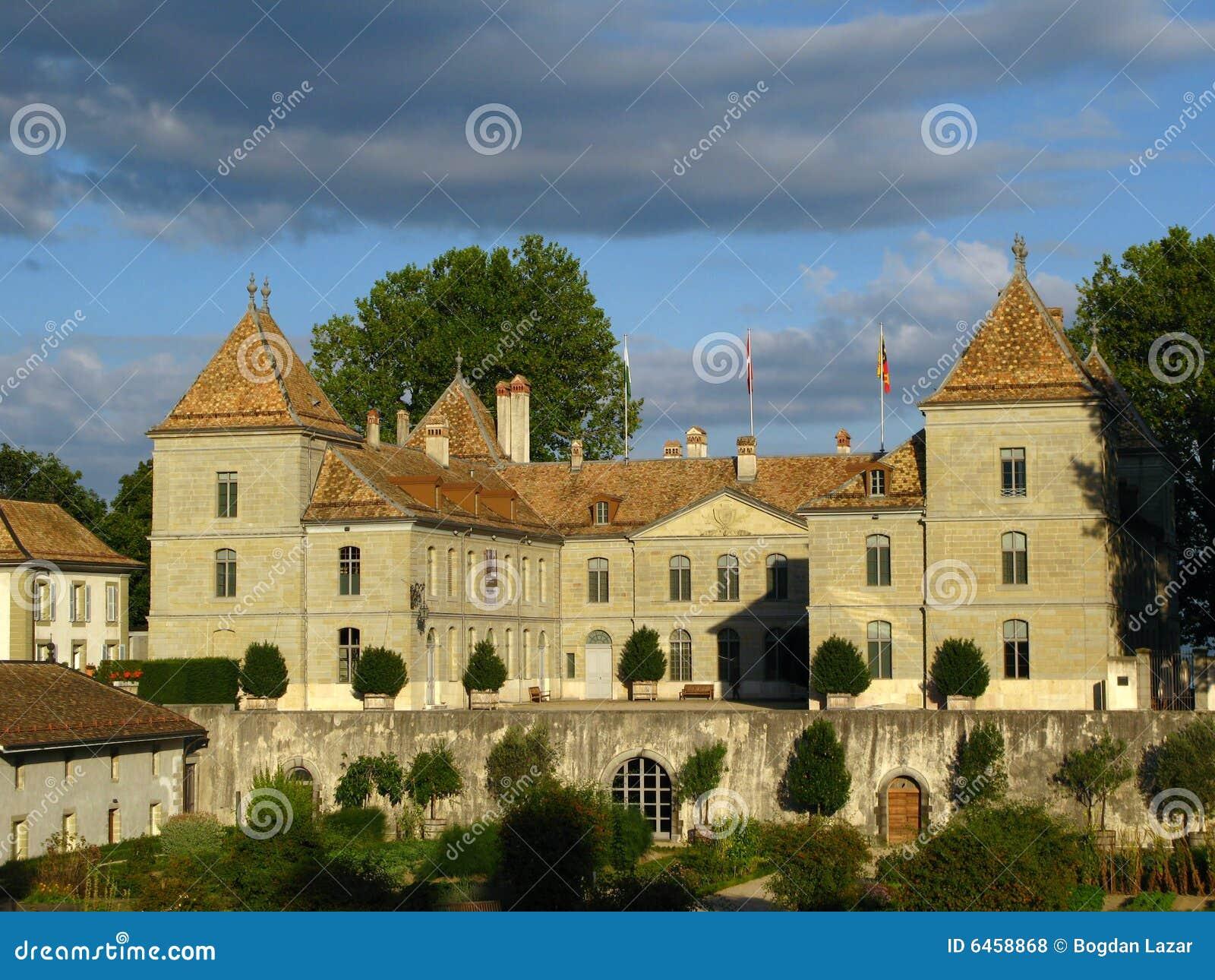 02 chateau De Prangins Szwajcarii