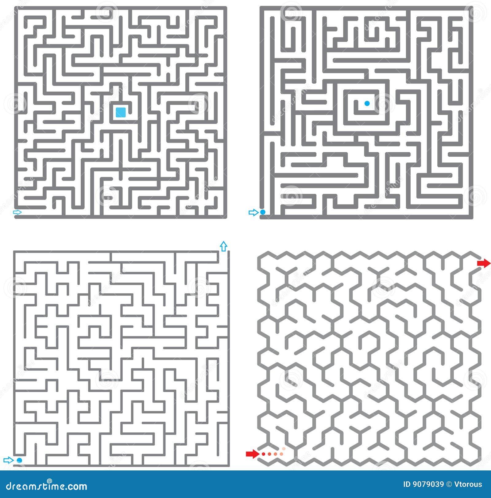 0245 kleine Labyrinthe