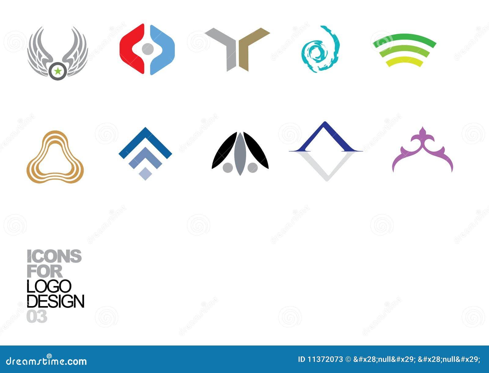 03个设计要素徽标向量