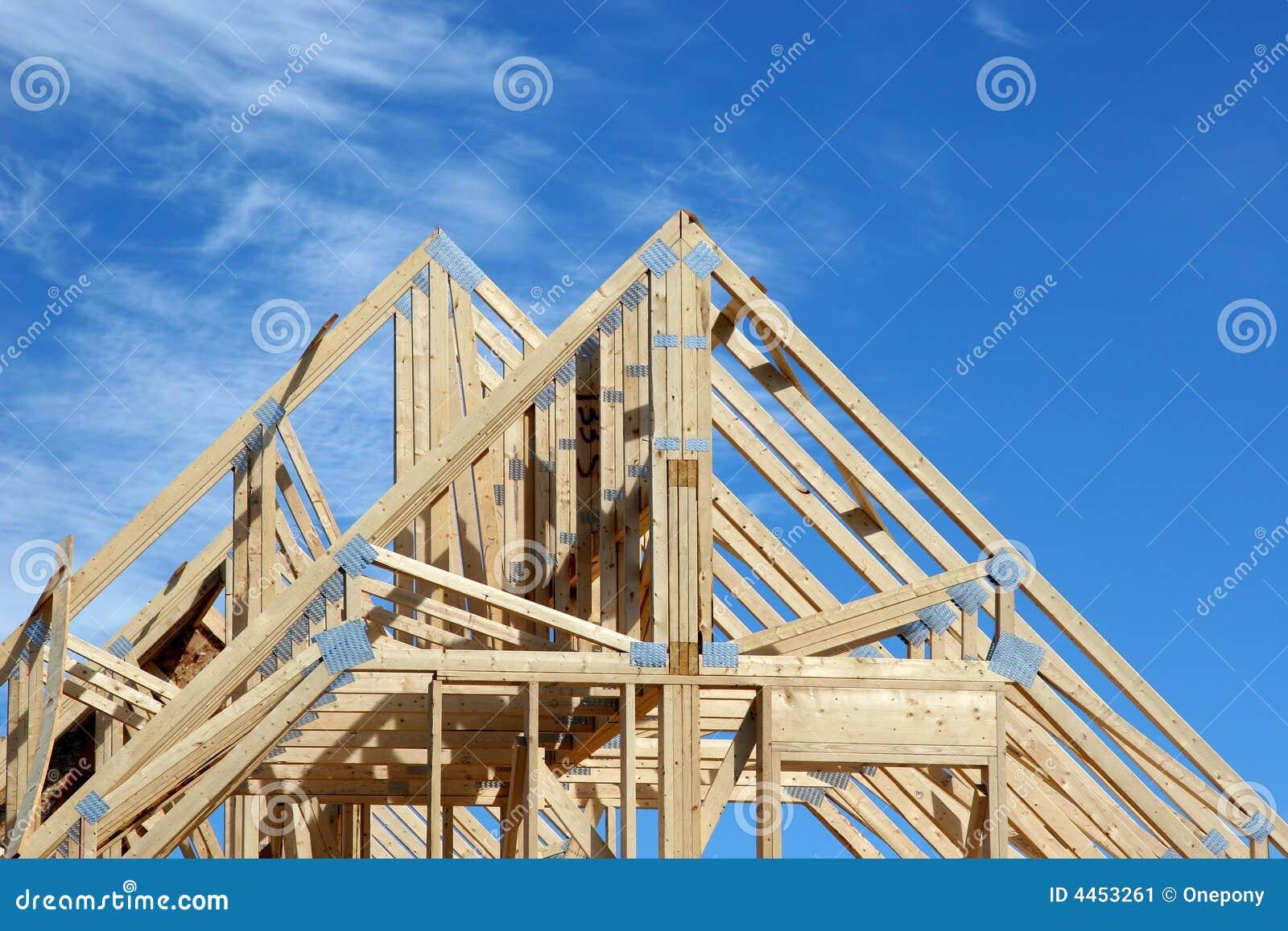 1个房子椽木