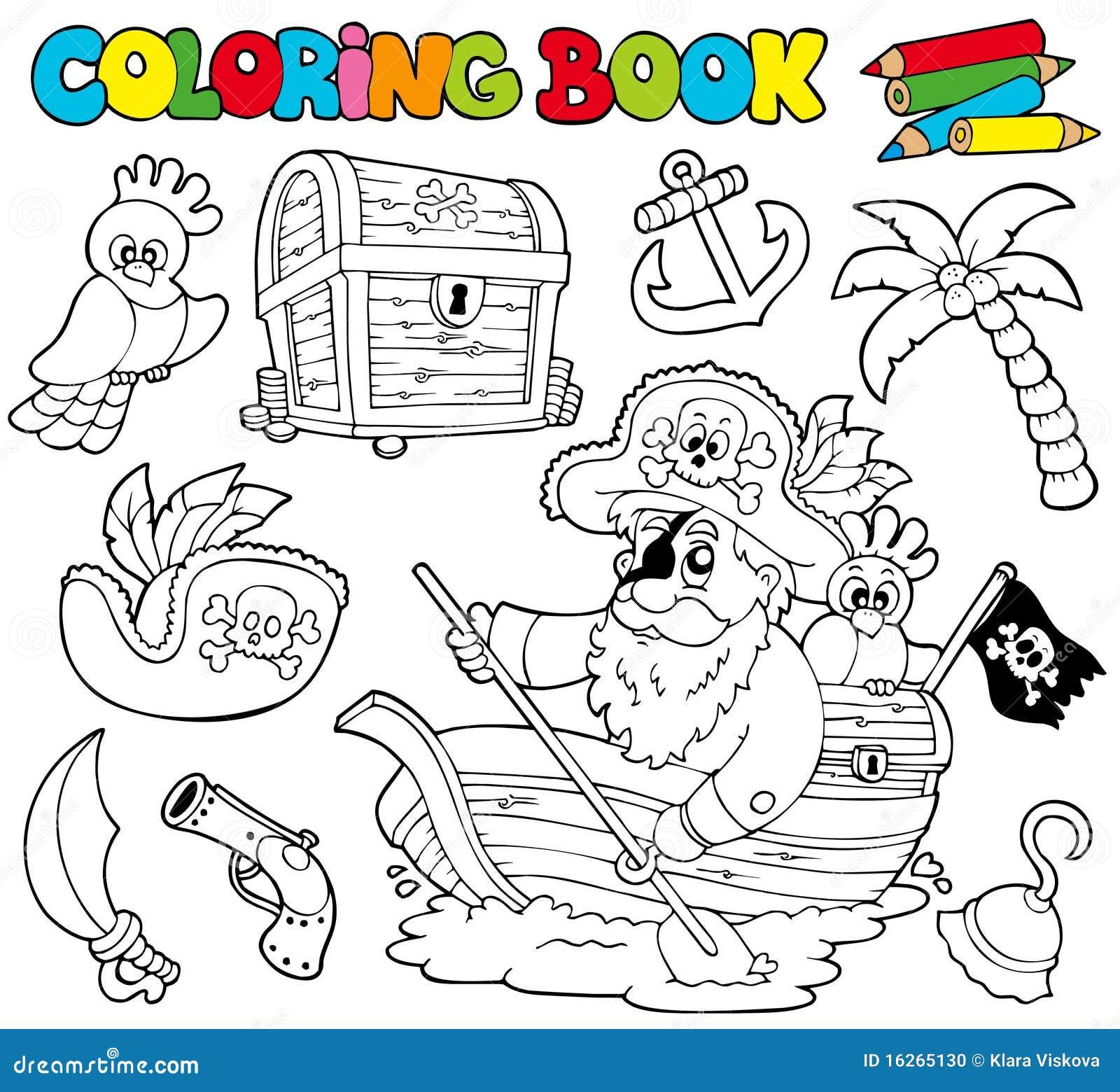 1书着色海盗