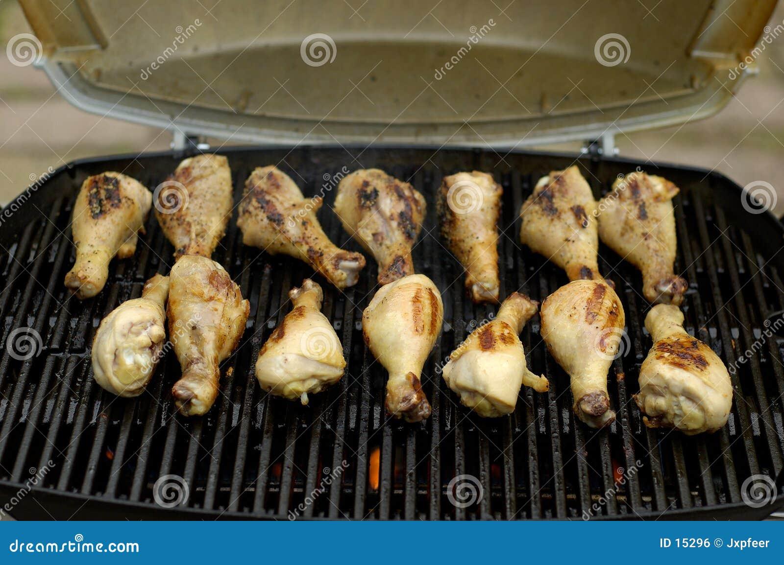1只bbq鸡