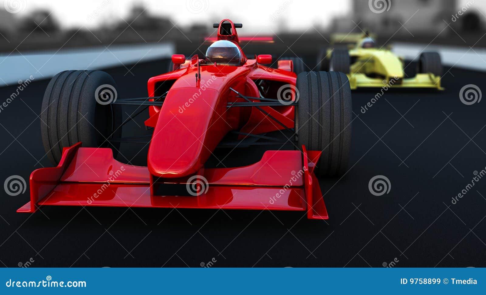1汽车配方红色体育运动黄色