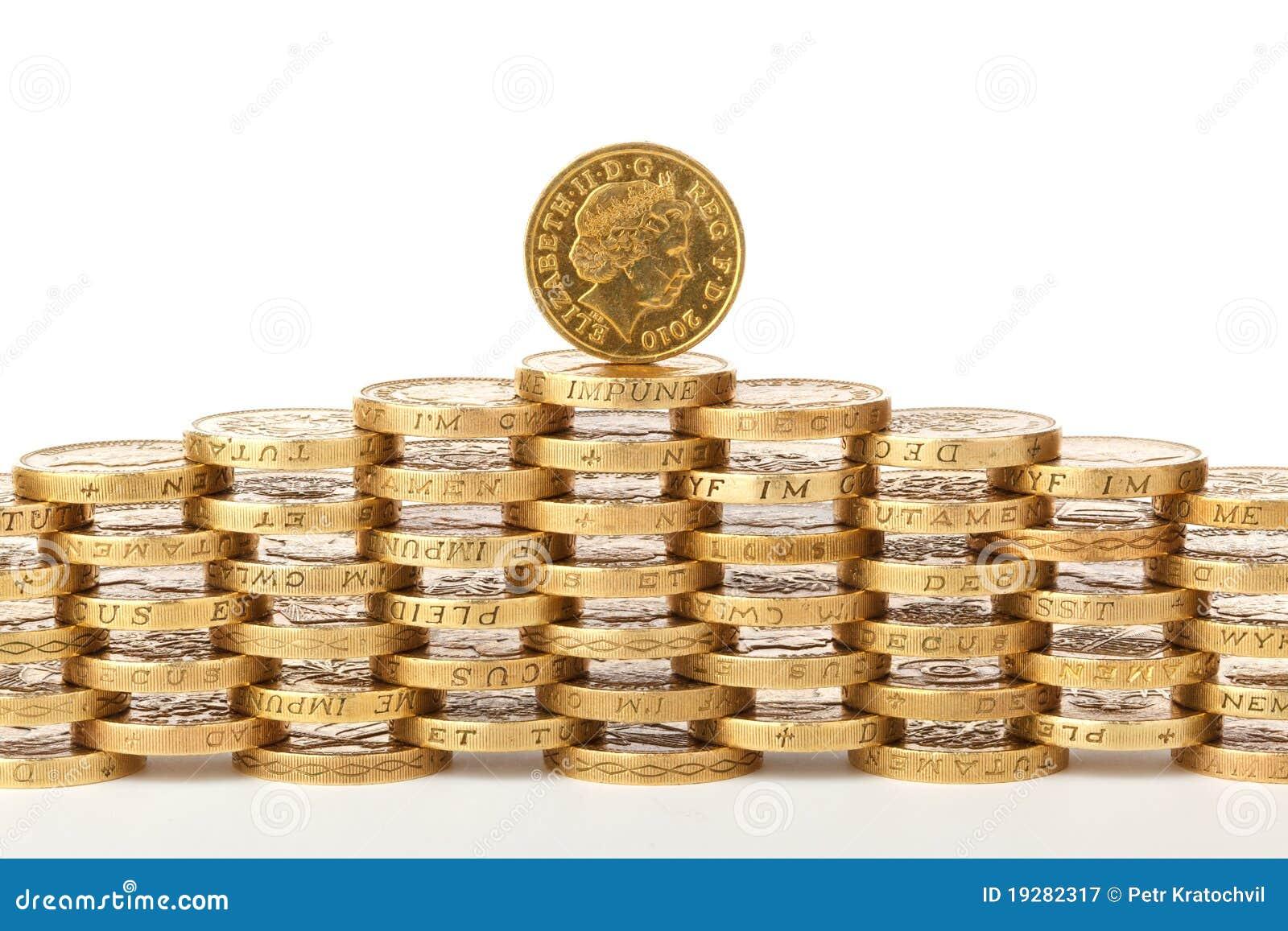 1英国硬币镑
