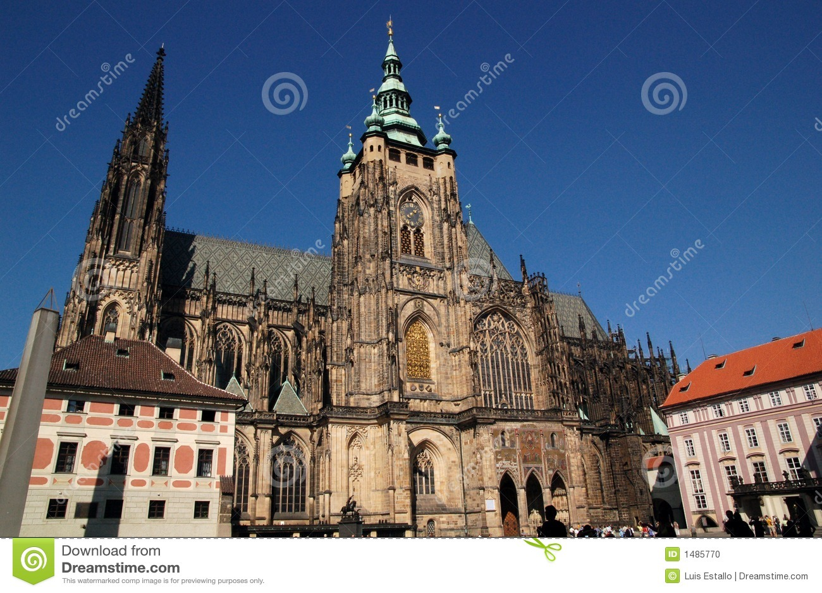 1 świętego katedralny Veit