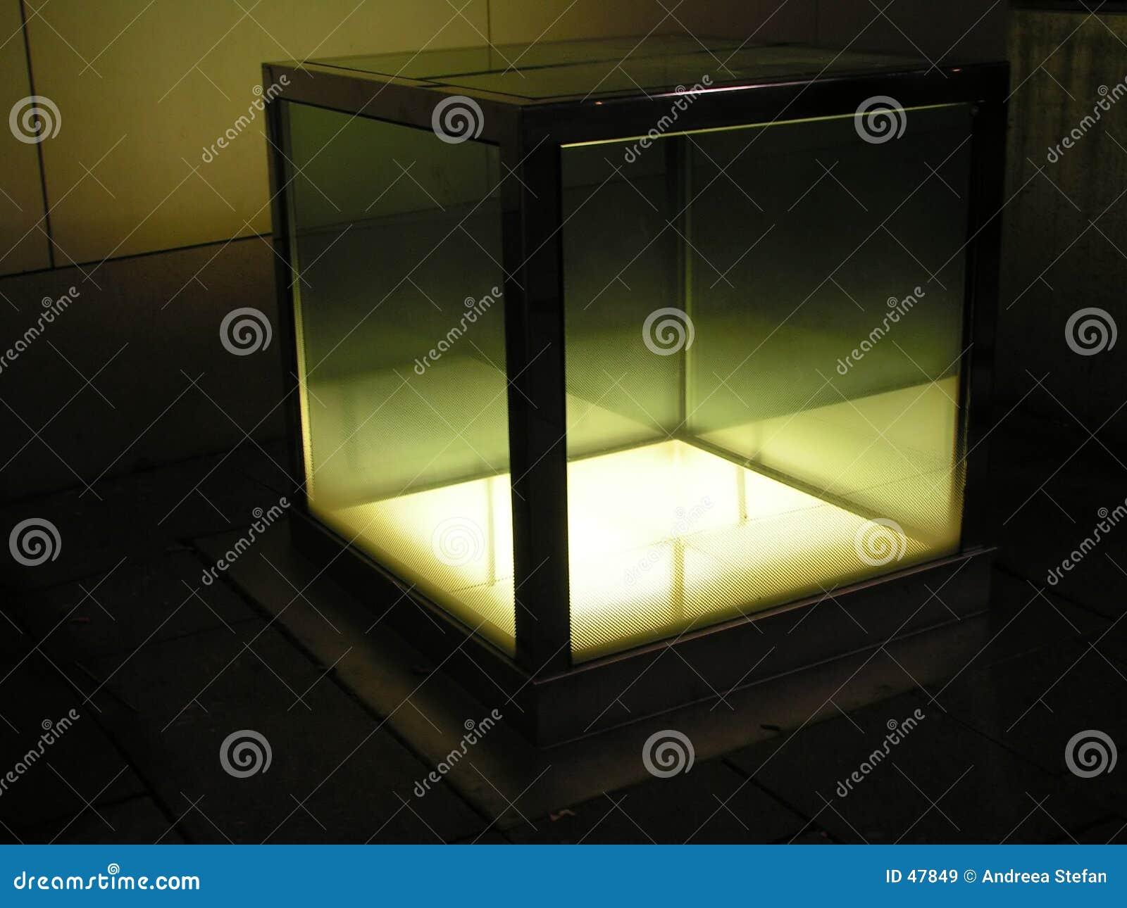 1 światło sześcianu