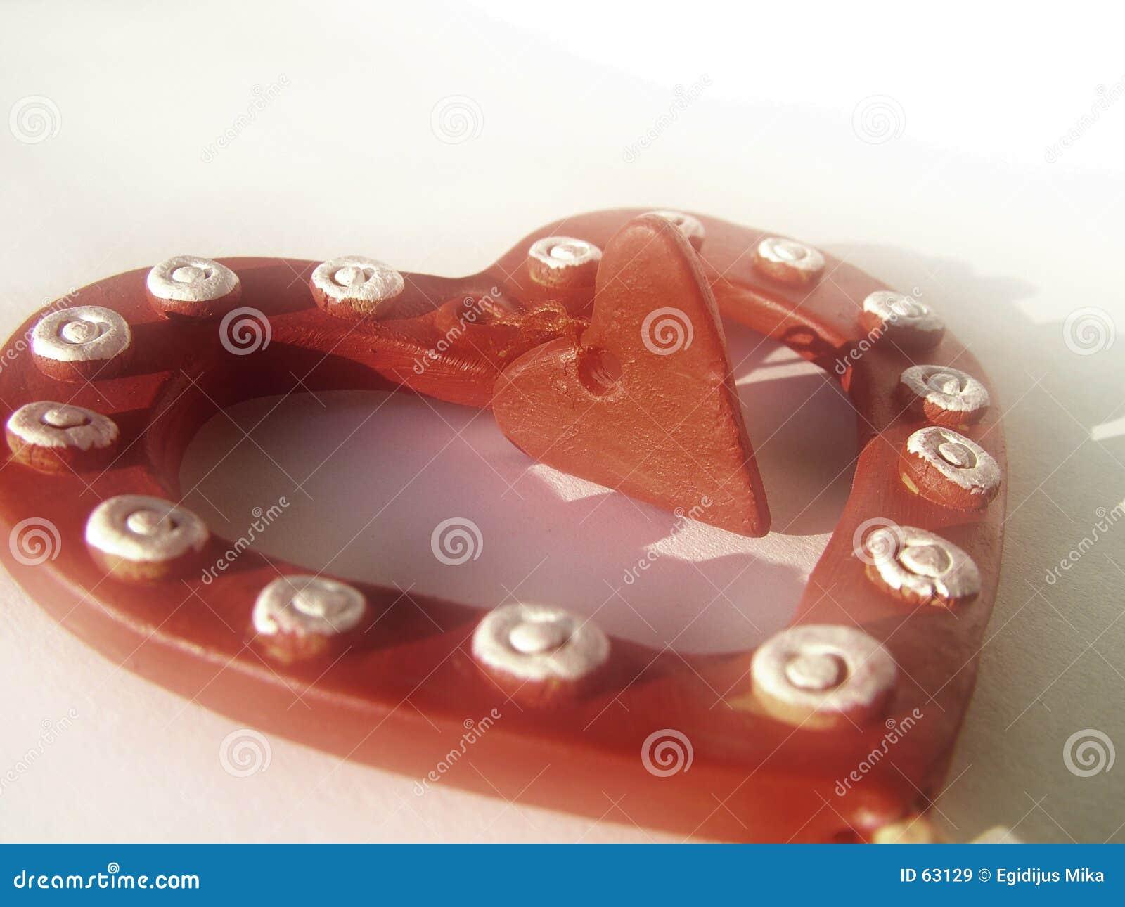 1 βαλεντίνος καρδιών ανασ&ka