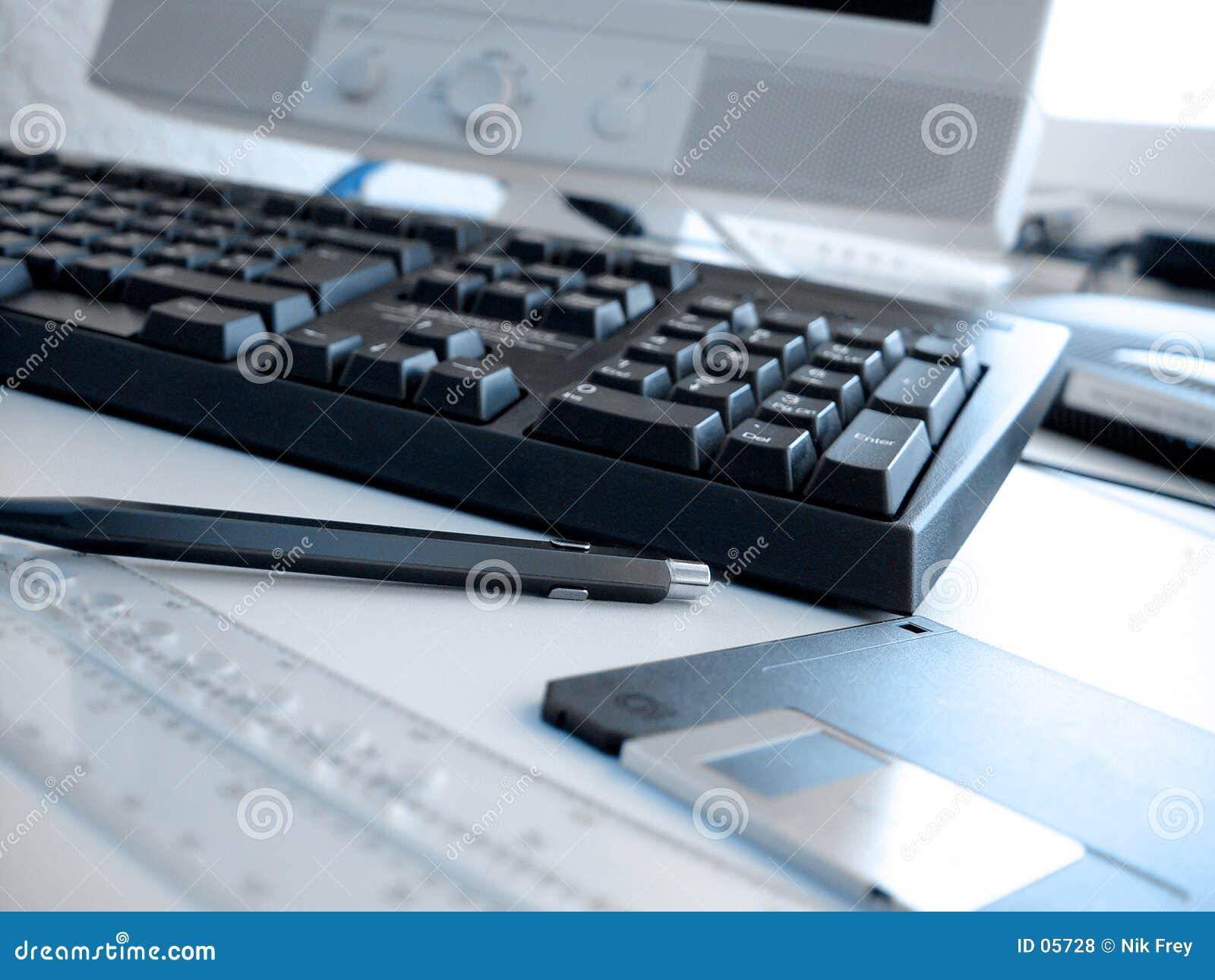 1 γραφείο σχεδιαγράμματος