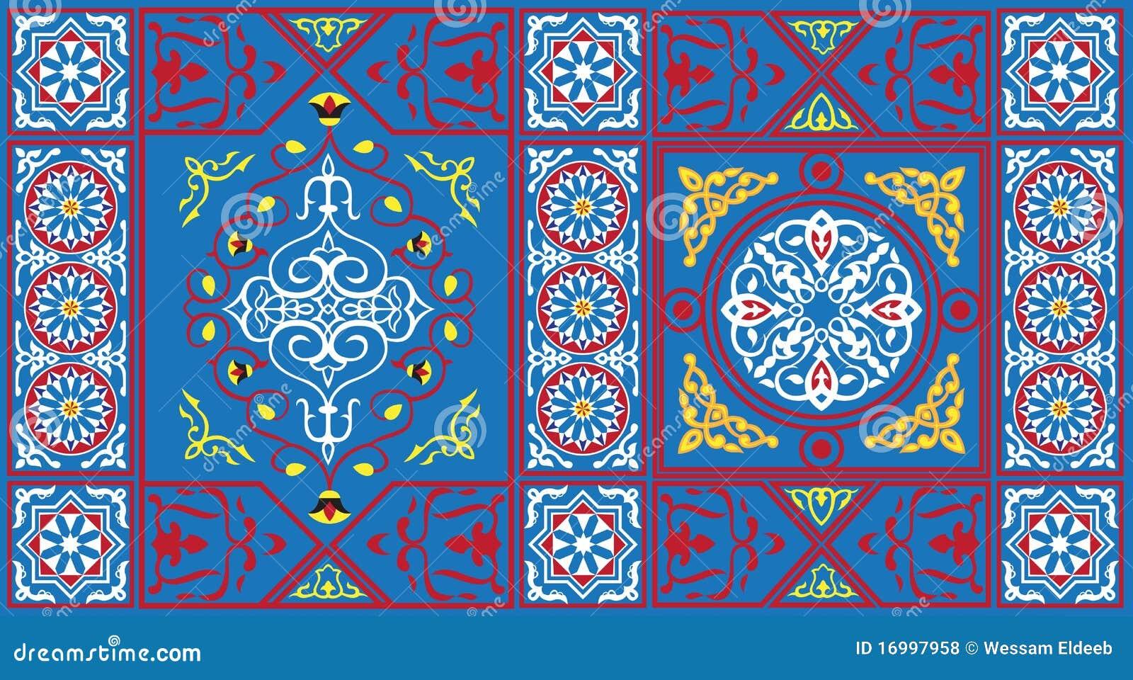 1 μπλε αιγυπτιακή σκηνή πρ&omicron