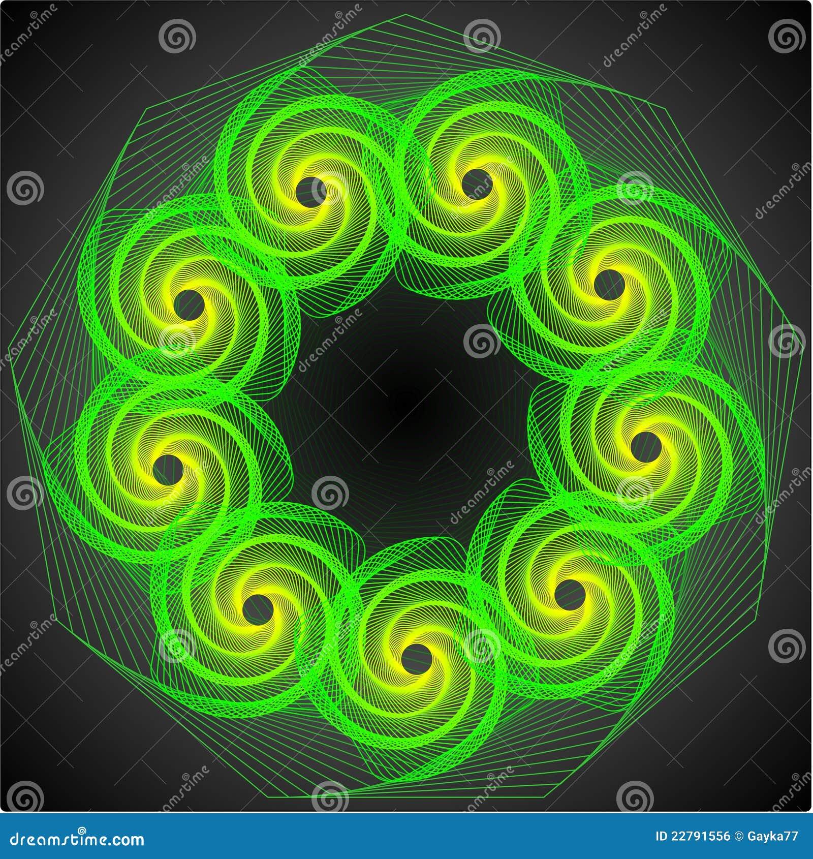 1 πράσινη δίνη