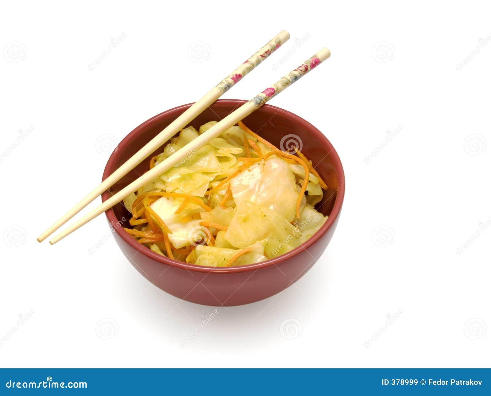 1 σαλάτα της Κίνας