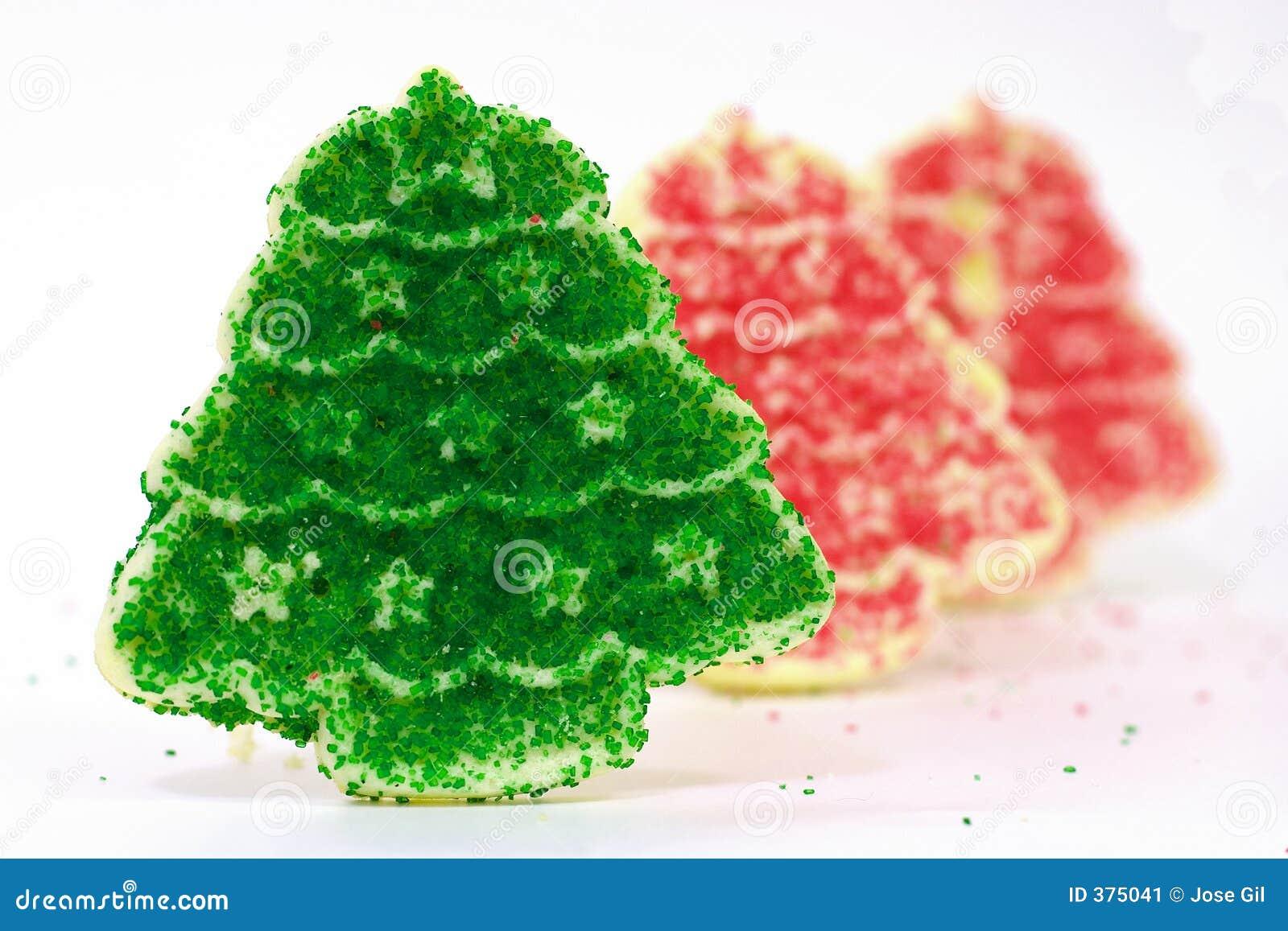 1 σειρά μπισκότων Χριστουγέννων