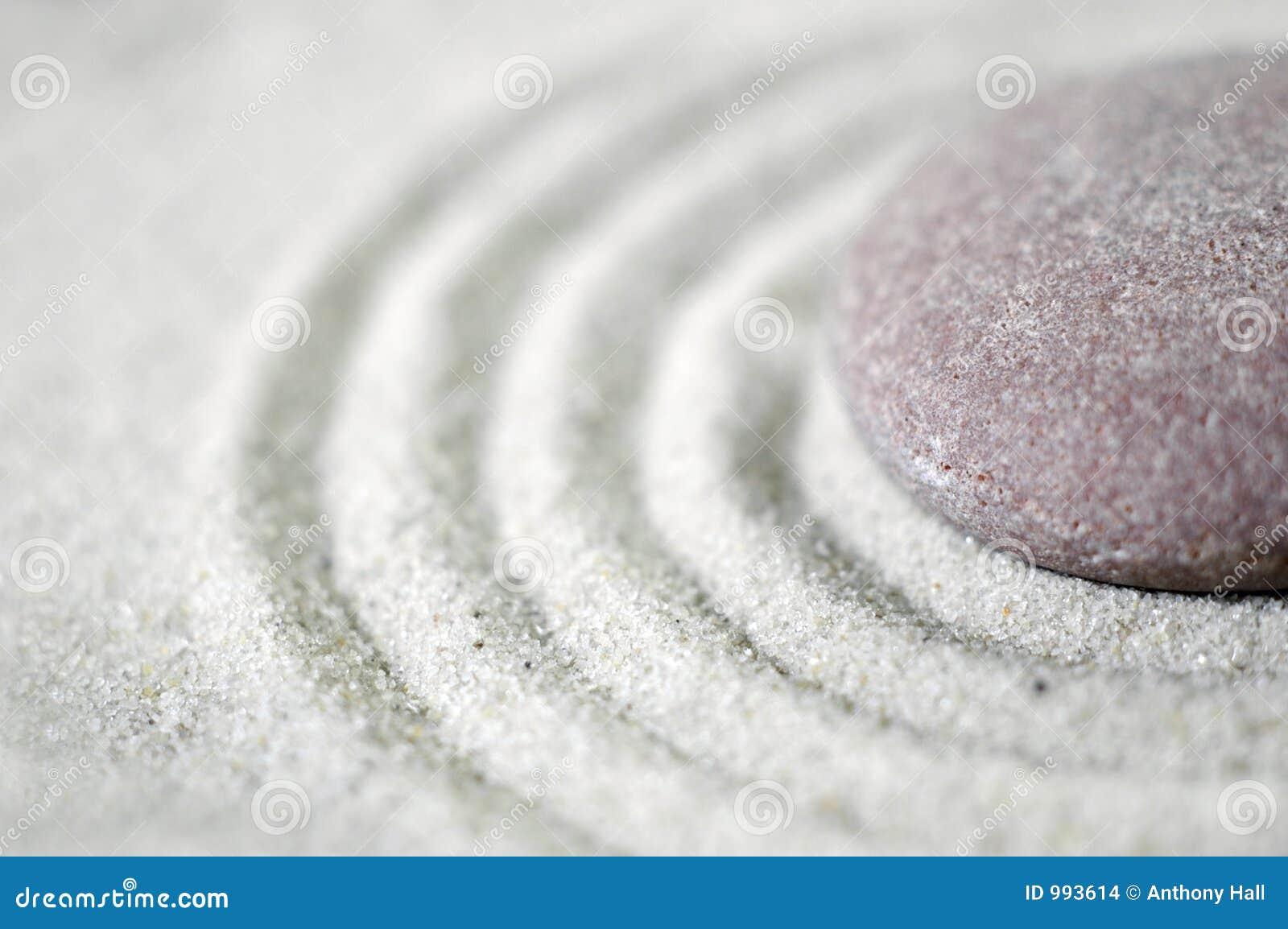 1 στενό χαλίκι zen επάνω