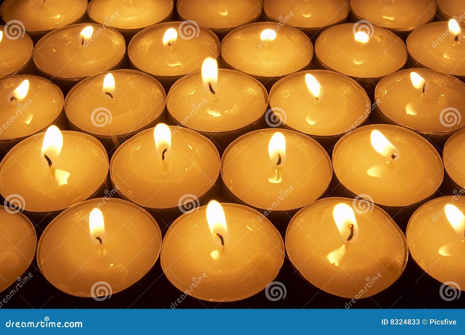 1 φωτισμός κεριών