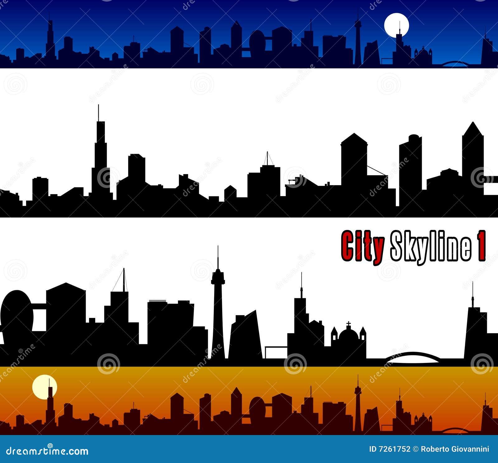 1 горизонт города
