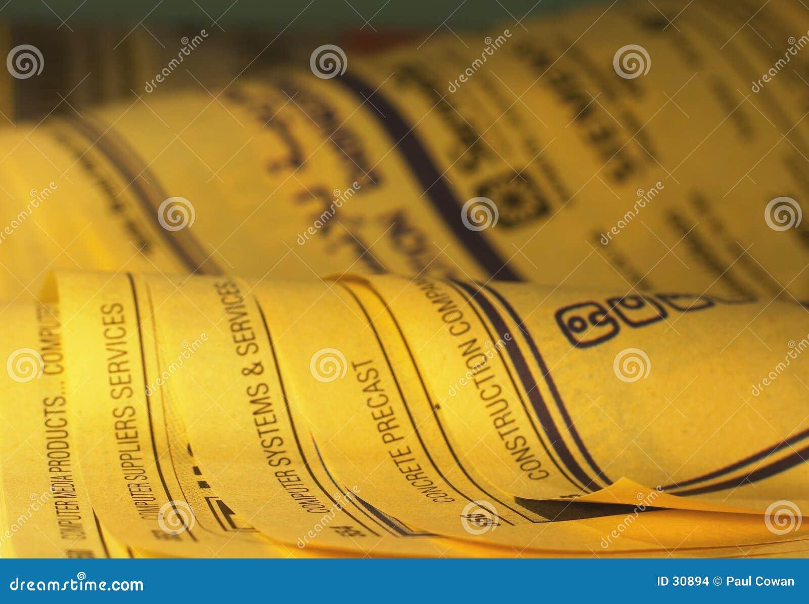 1 желтый цвет страниц