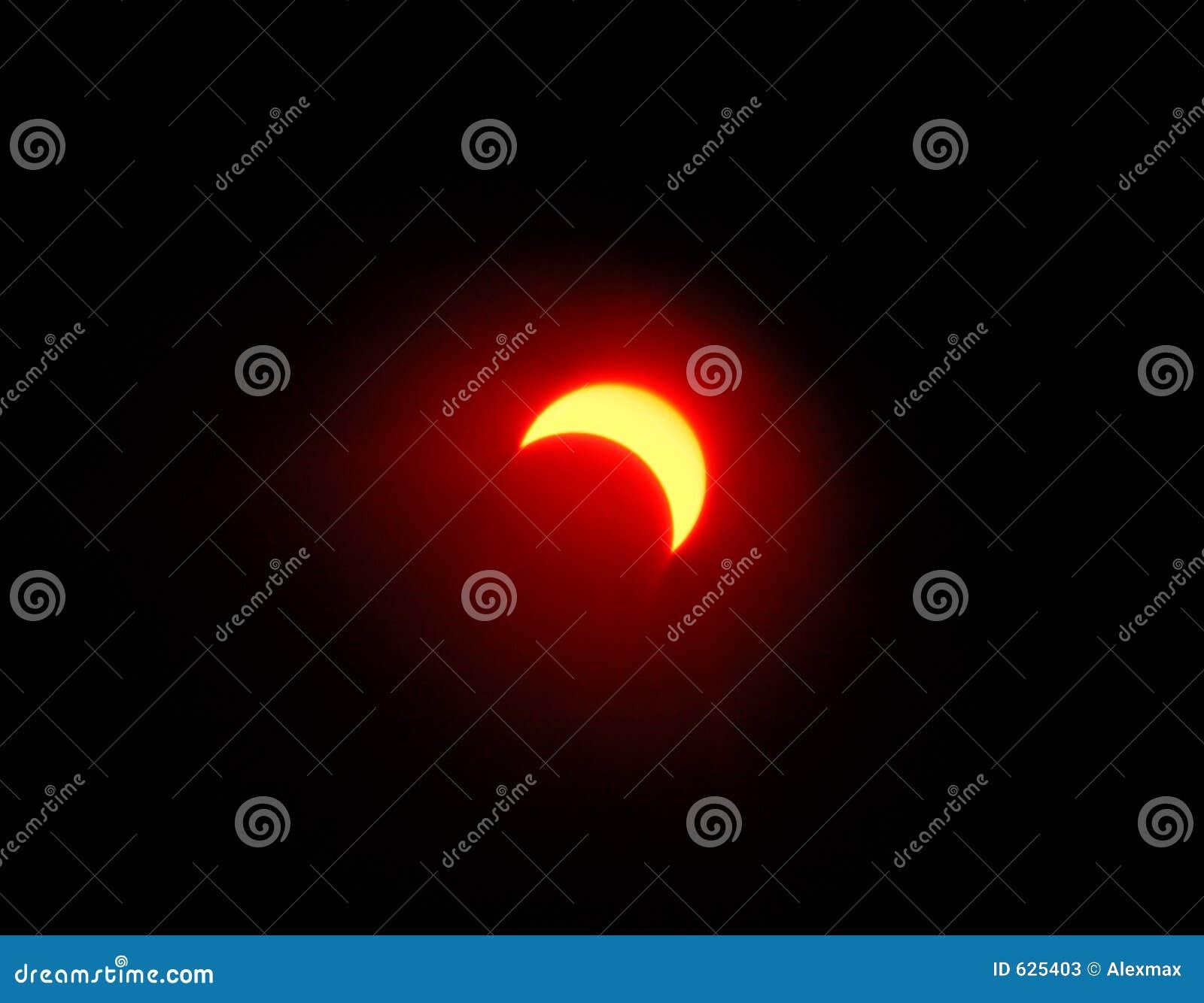 Download 1 затмение солнечное стоковое изображение. изображение насчитывающей померанцово - 625403