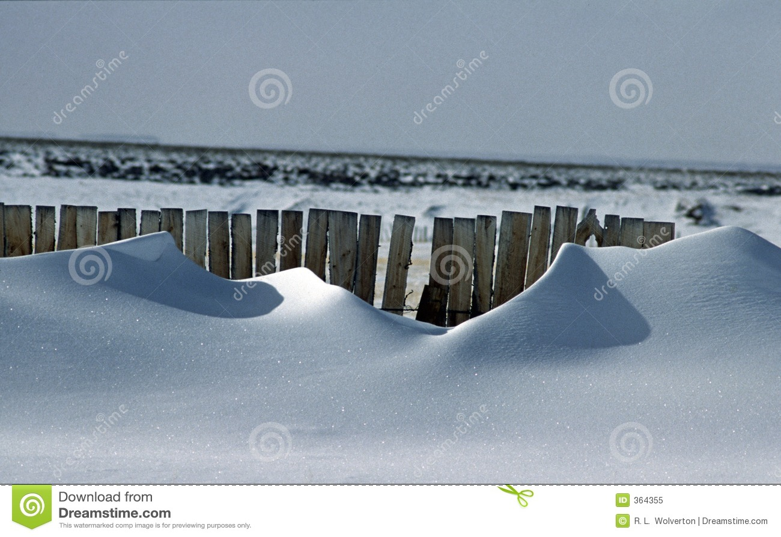 1 за снежком загородки смещений