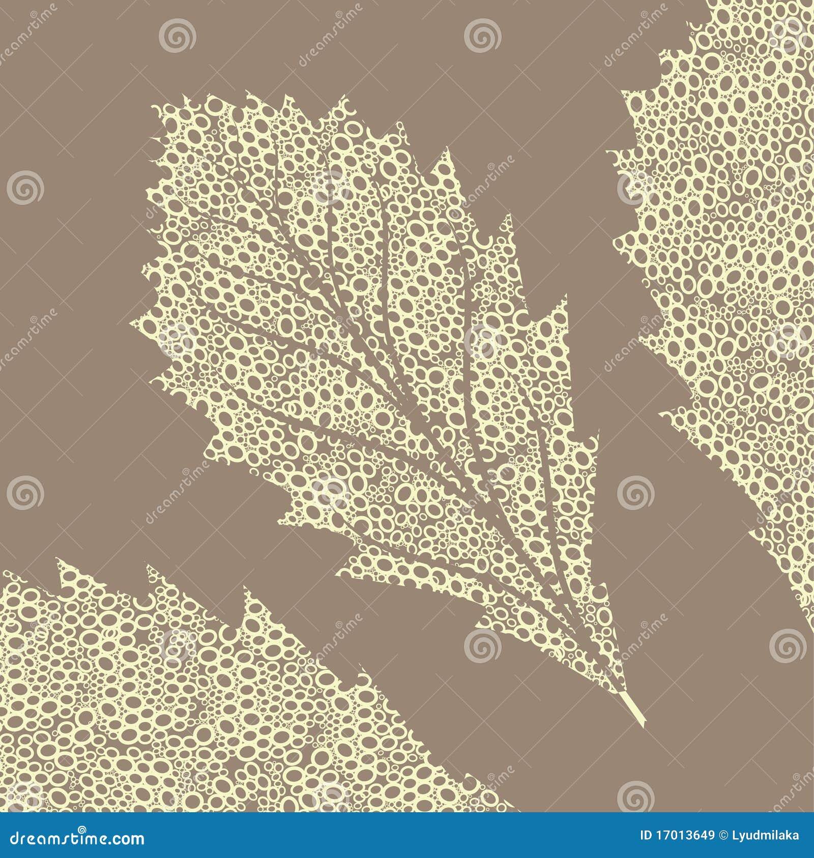 1 листь стилизованный