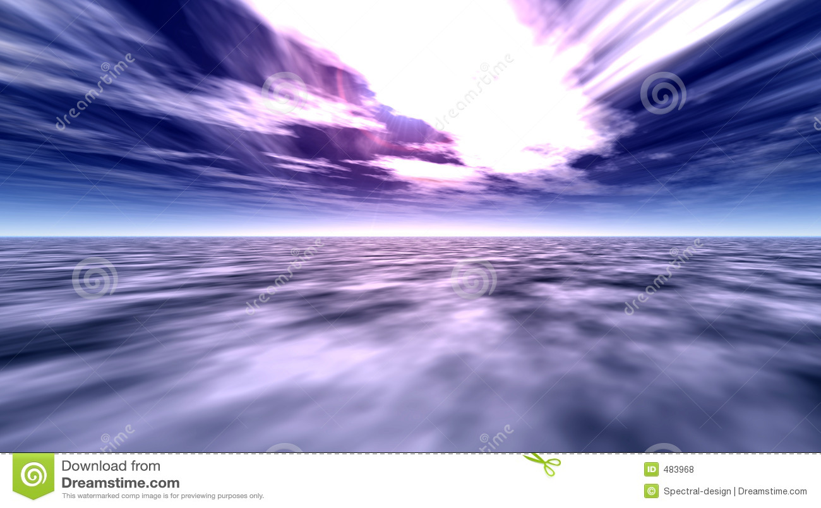 1 небо океана