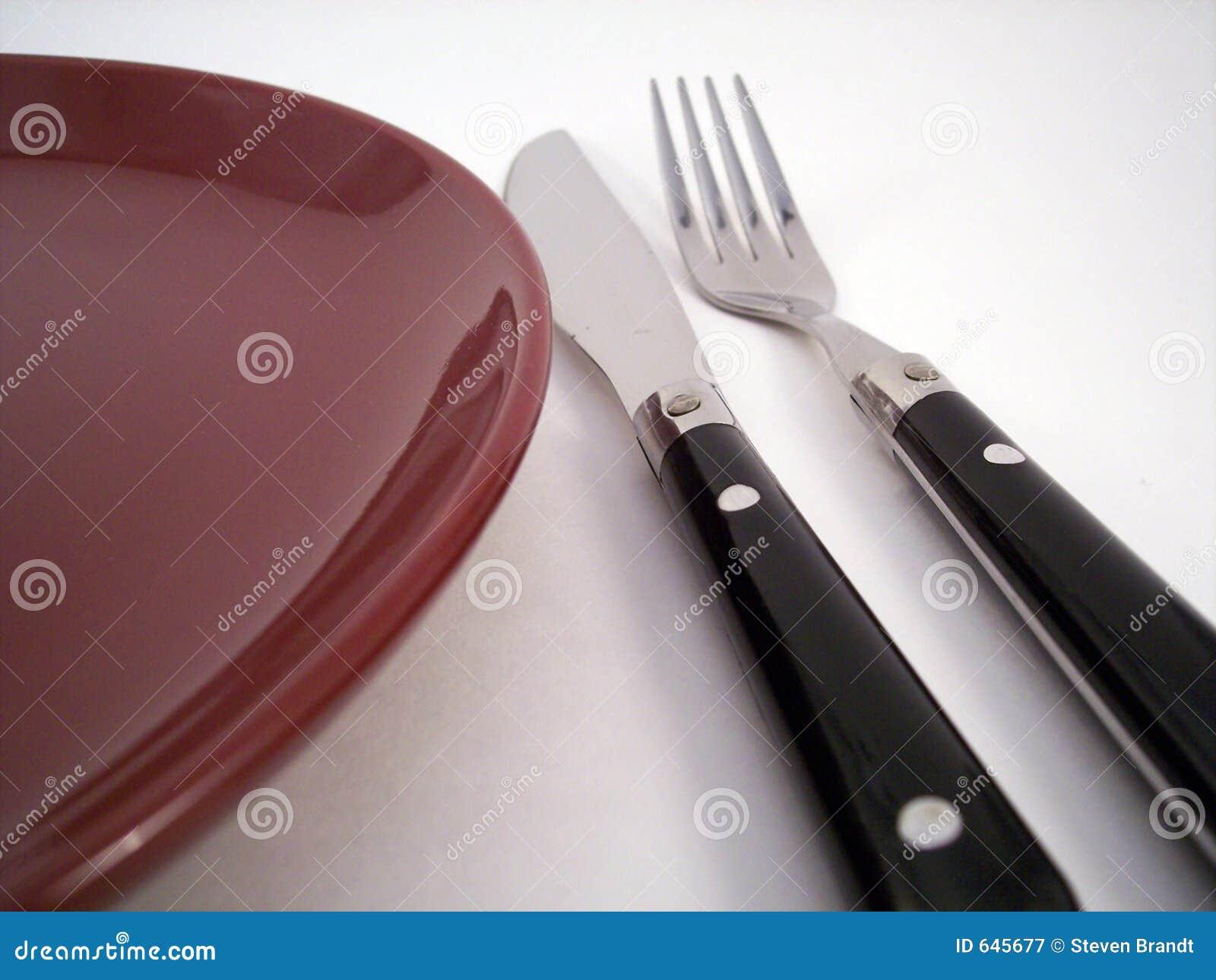 Download 1 установка обеда стоковое изображение. изображение насчитывающей обедать - 645677