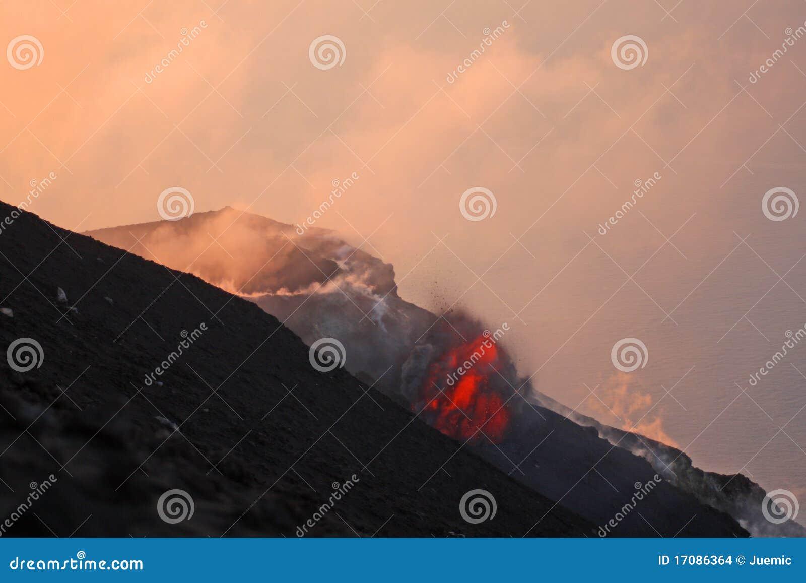 1 часть извержения вулканическая