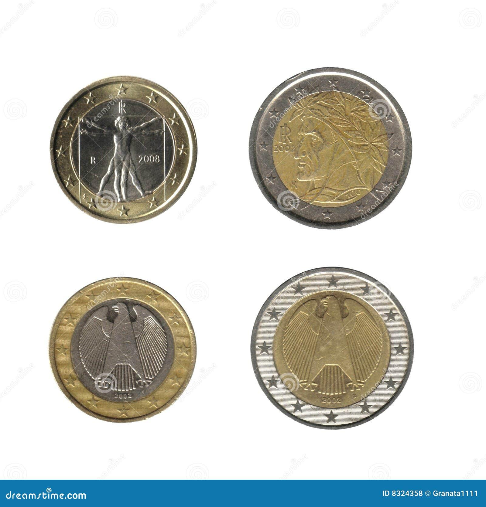 1 2 ευρώ νομισμάτων