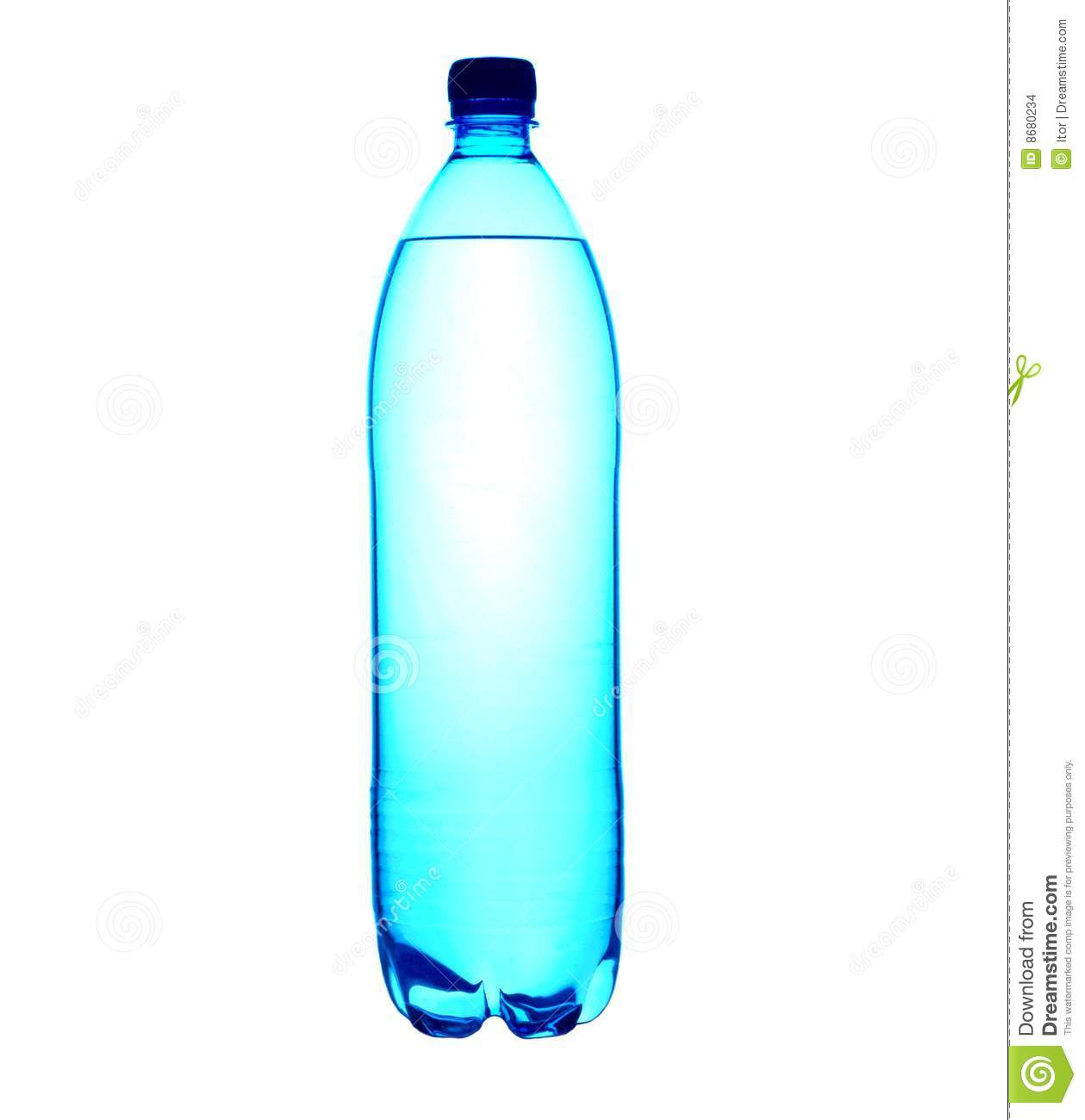 Liter Bottled Water Stock Images - Image: 8680234