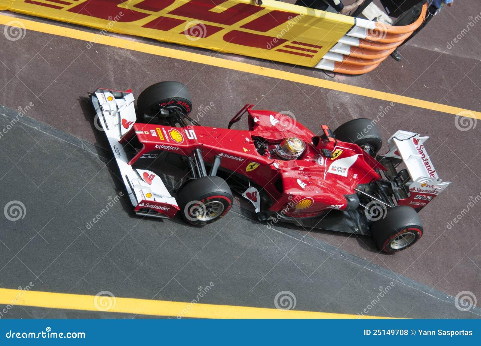 (1) Alonso formuły uroczysty Monaco prix