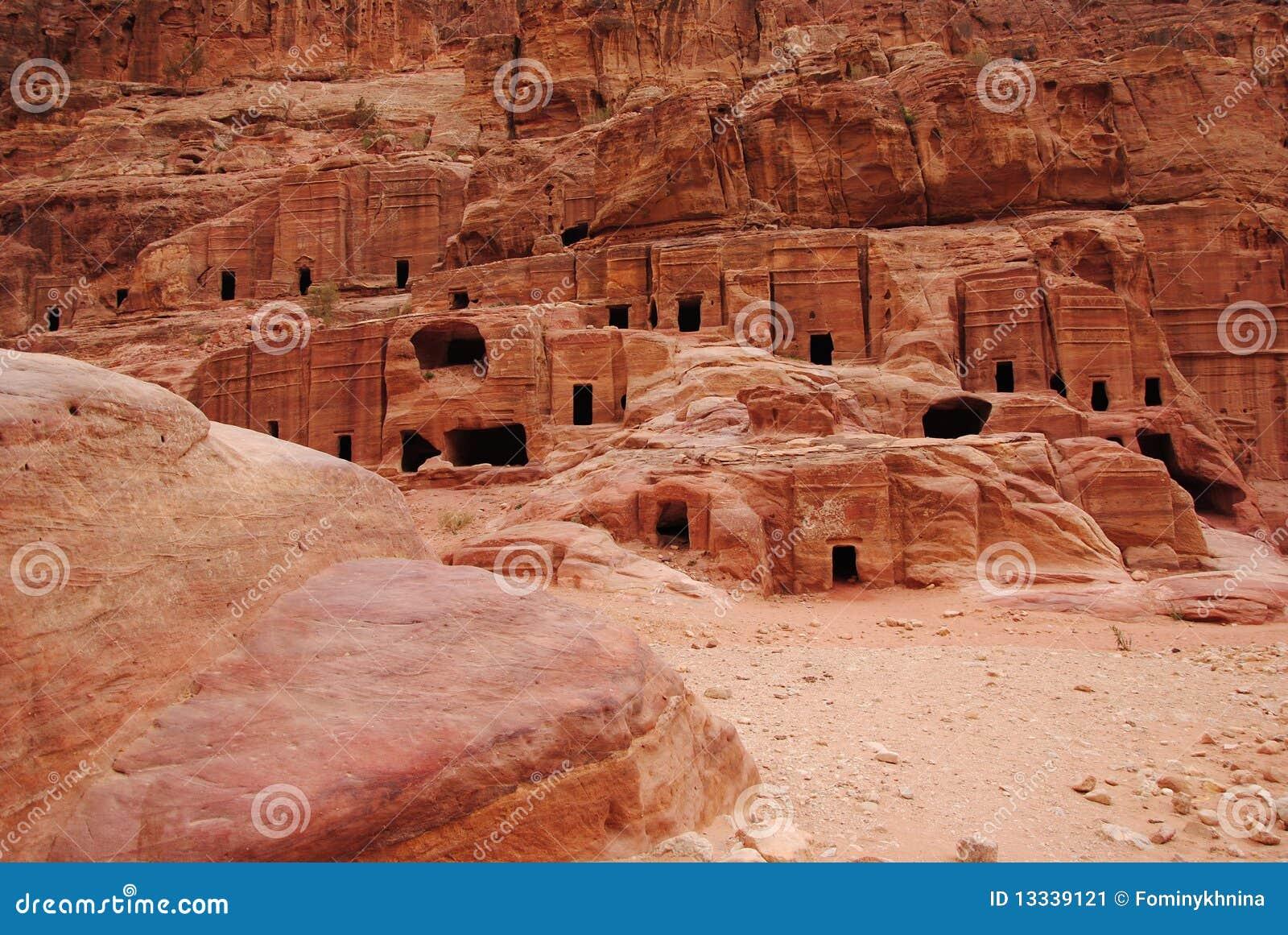 (1) architektury iordania zabytku petra