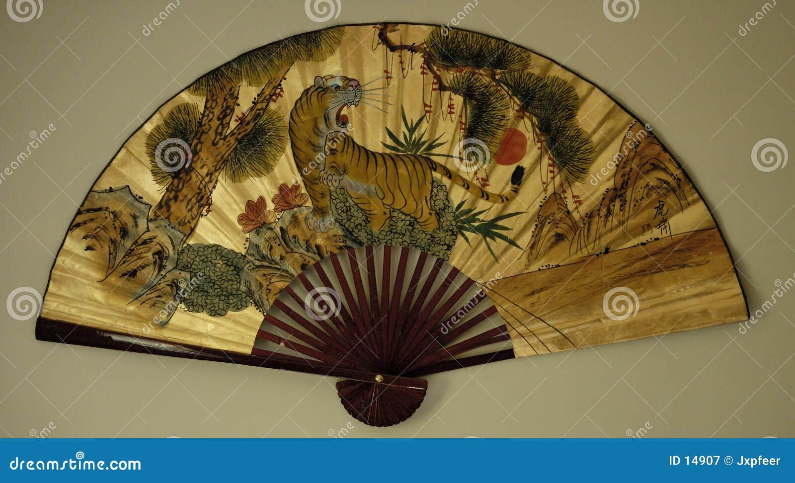 1 asiatiska ventilator