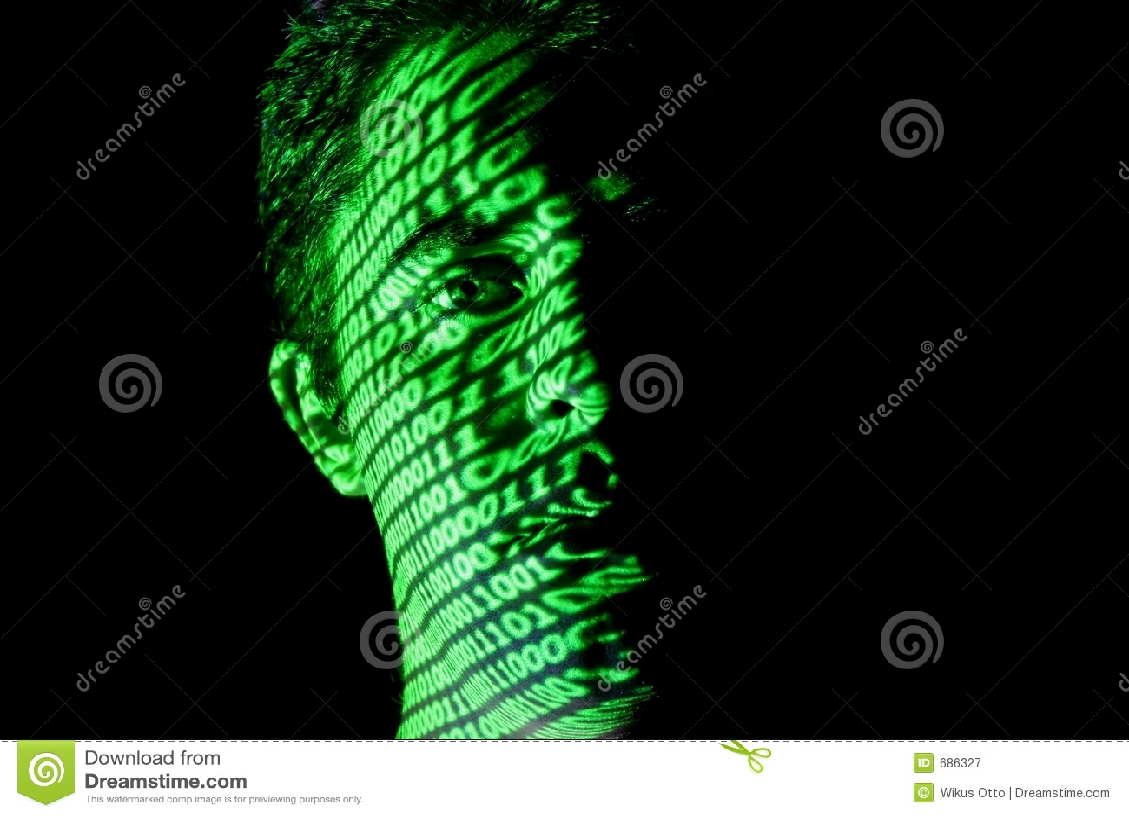1 binarna twarz