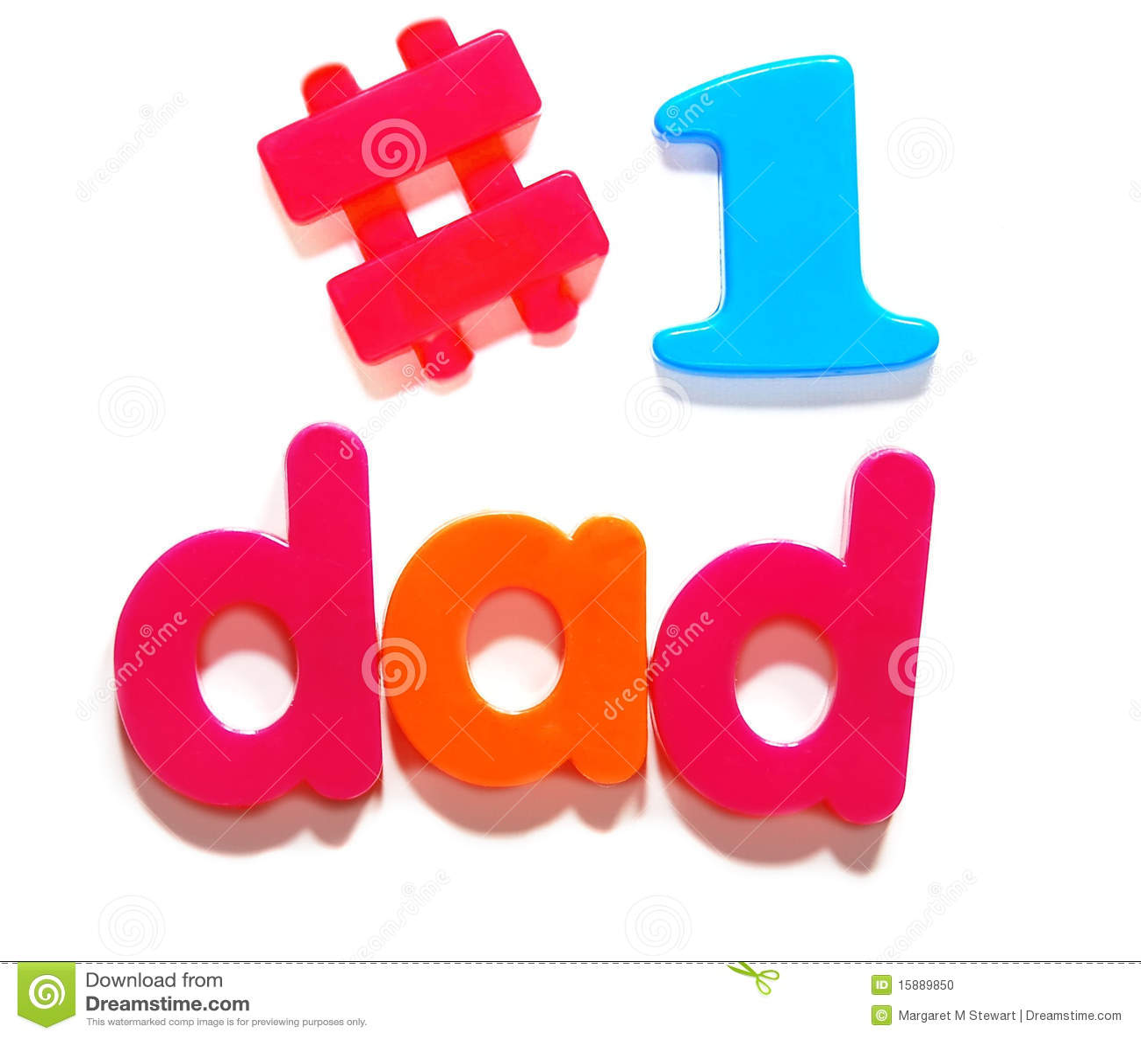 1 Dad Stock Photo Image 15889850