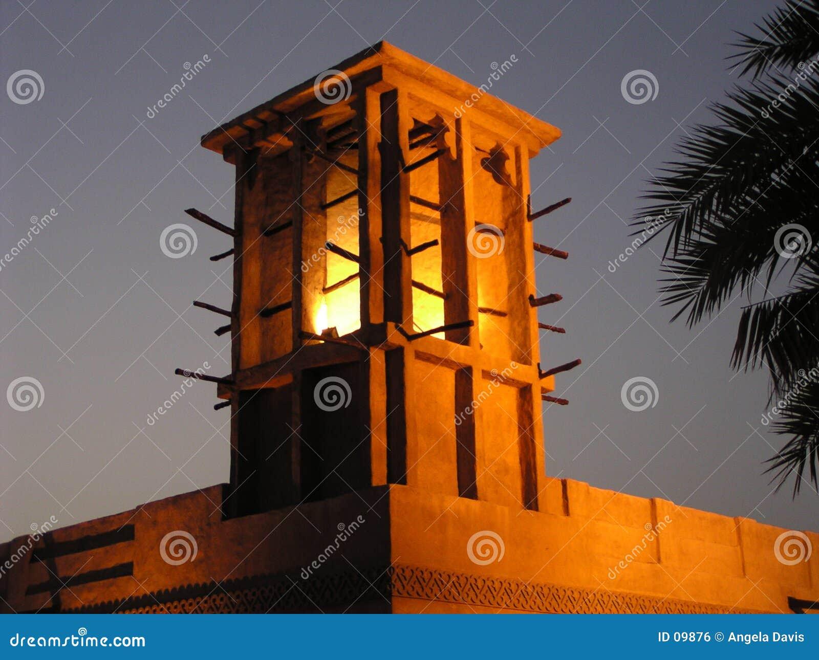 1 Dubaju wieży wiatr