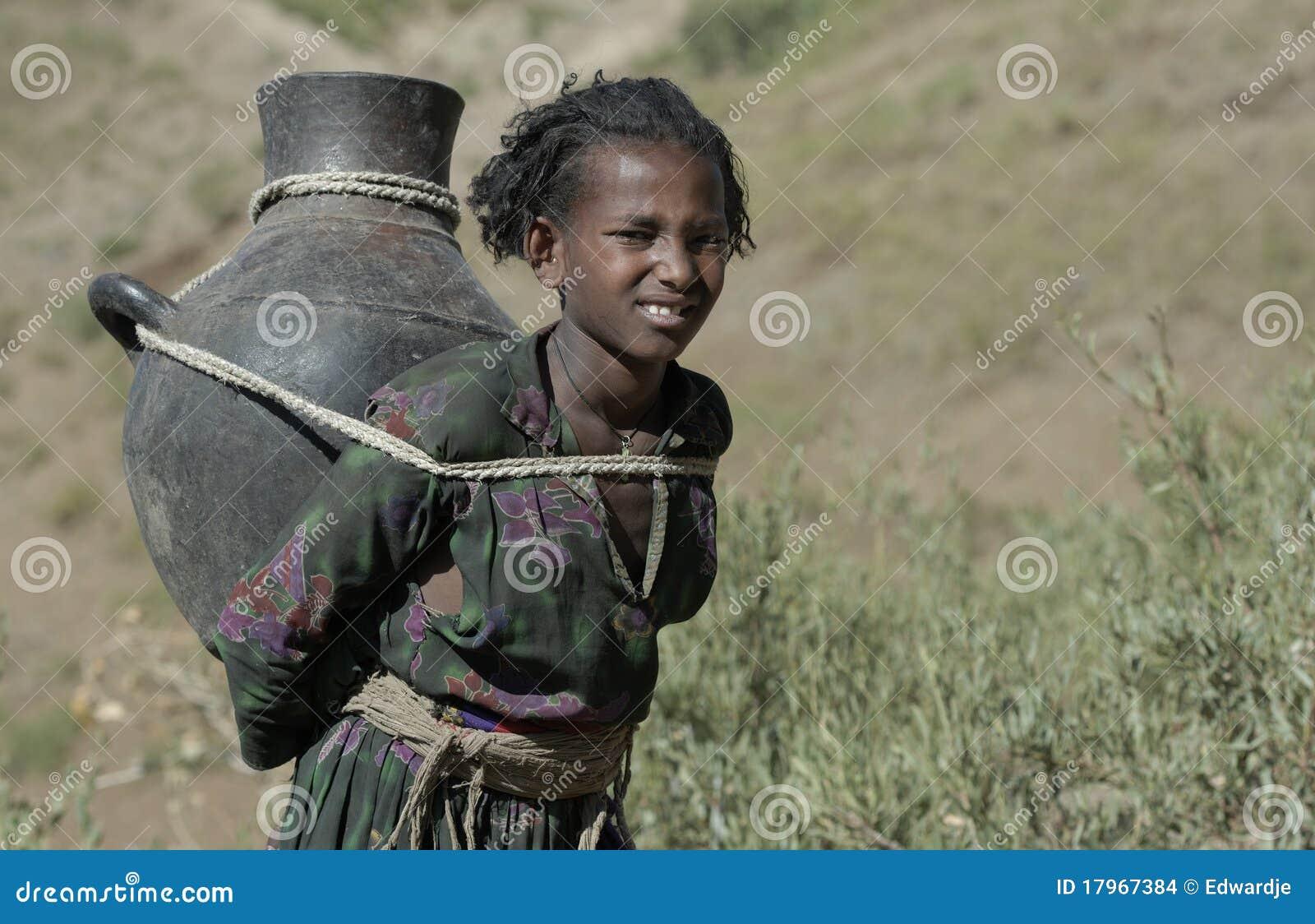 1 ethiopian flicka
