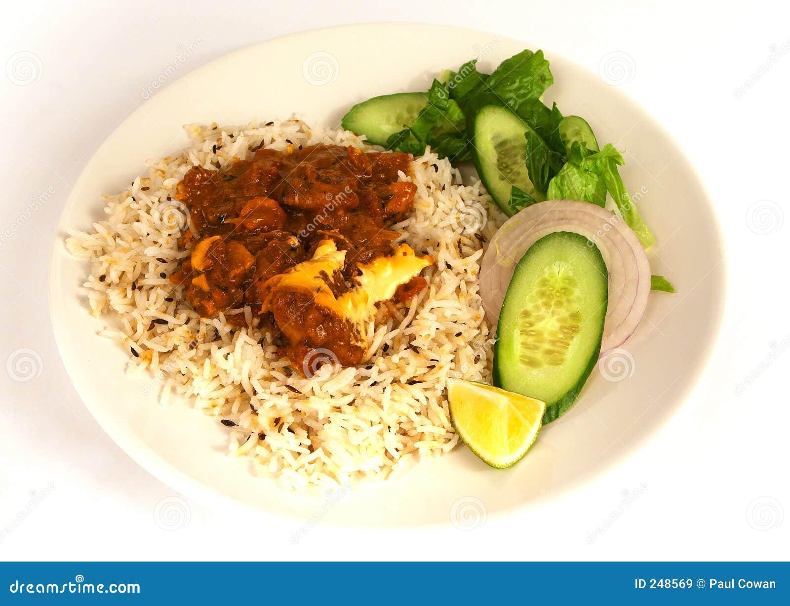 1 fega curry för smör