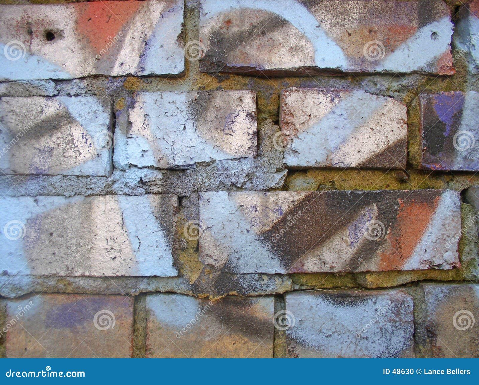 1 graffiti ścianę