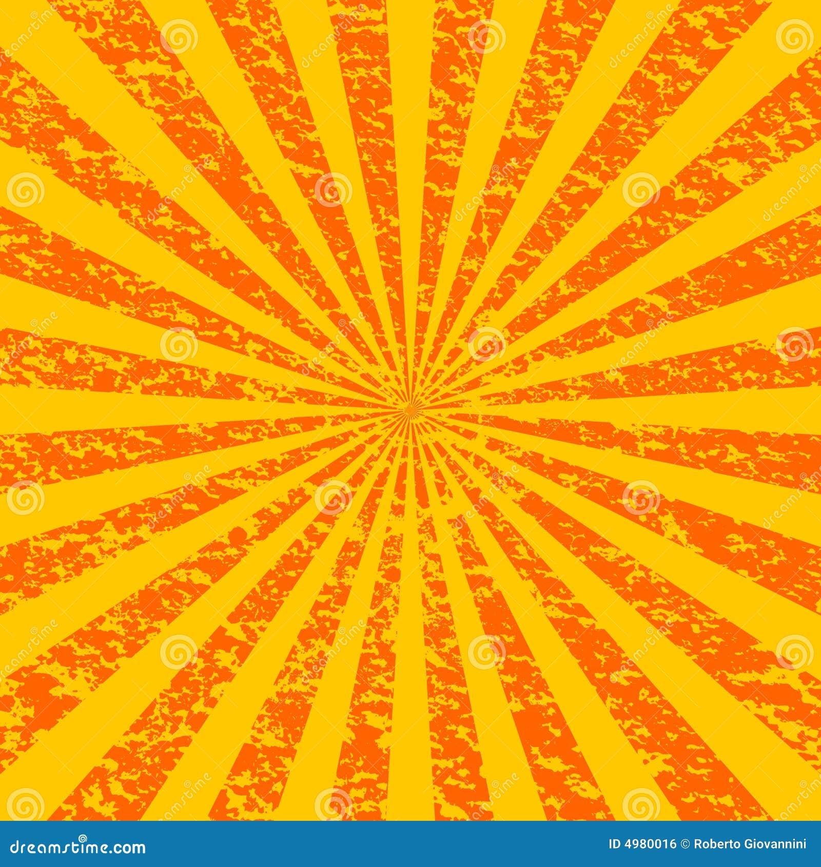 1 grunge sunburst